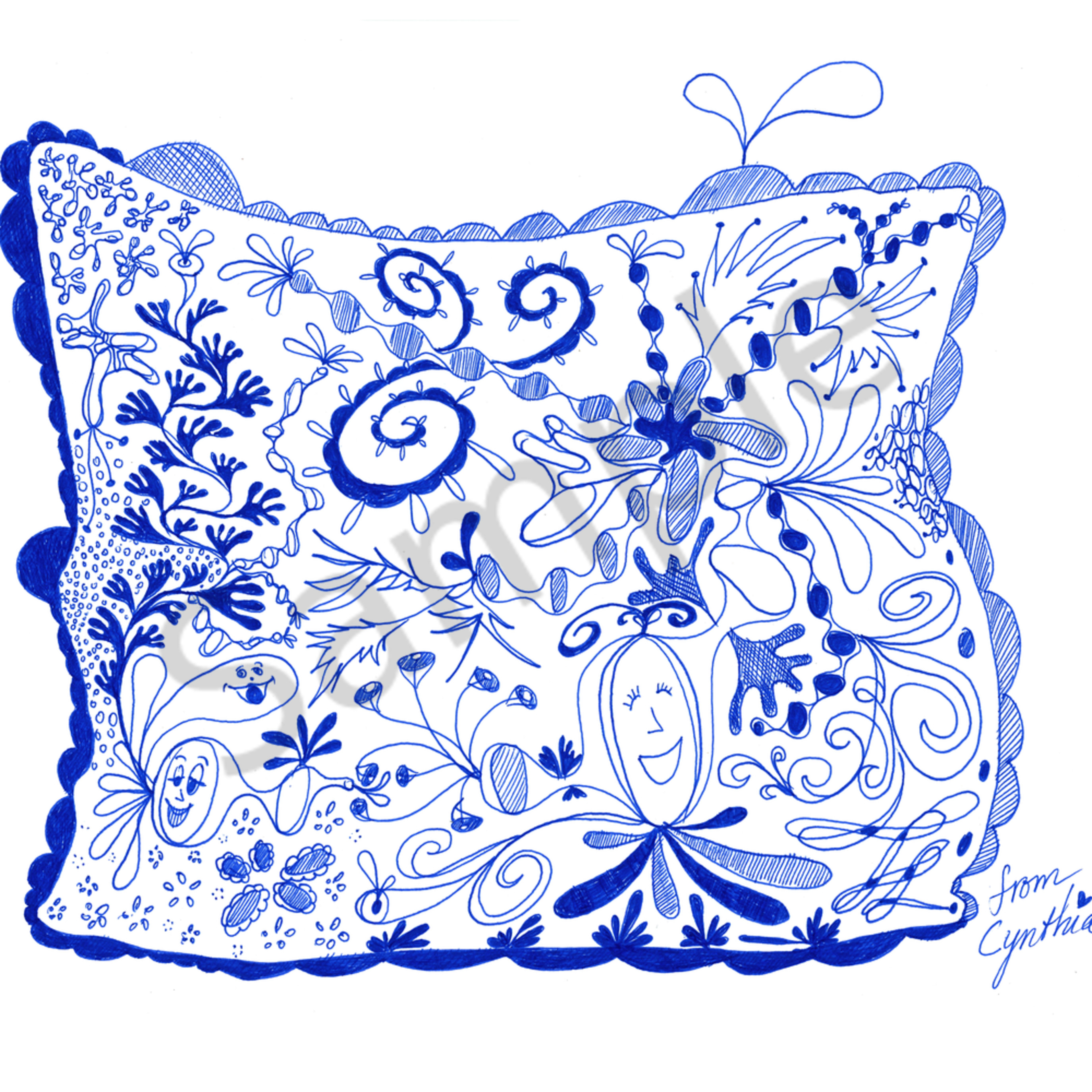 Spring pillow march 2020 orn7jr