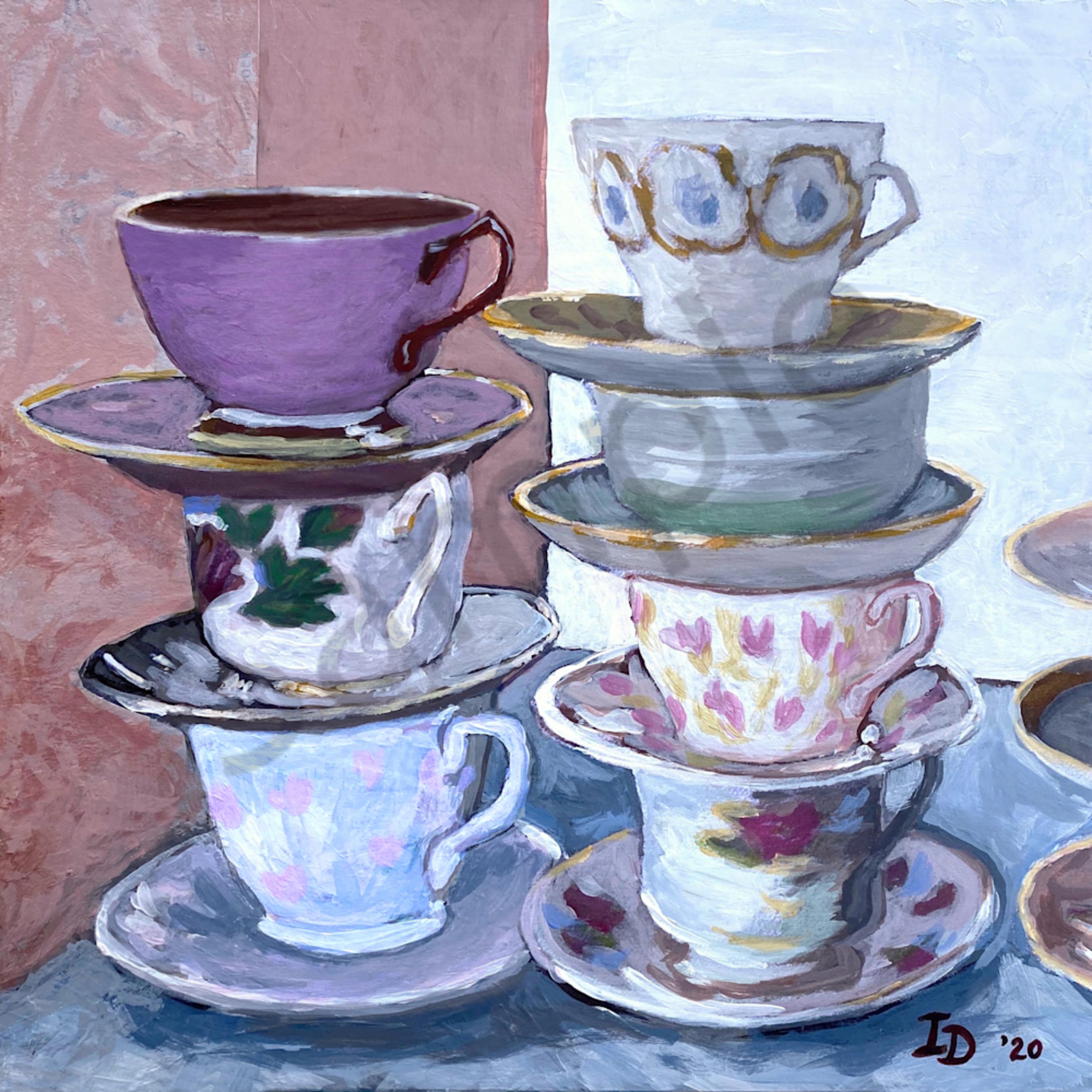 Inna dzhanibekova 06 still life with teacups  2 v3 wm6ay8