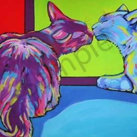 The kiss woulwa