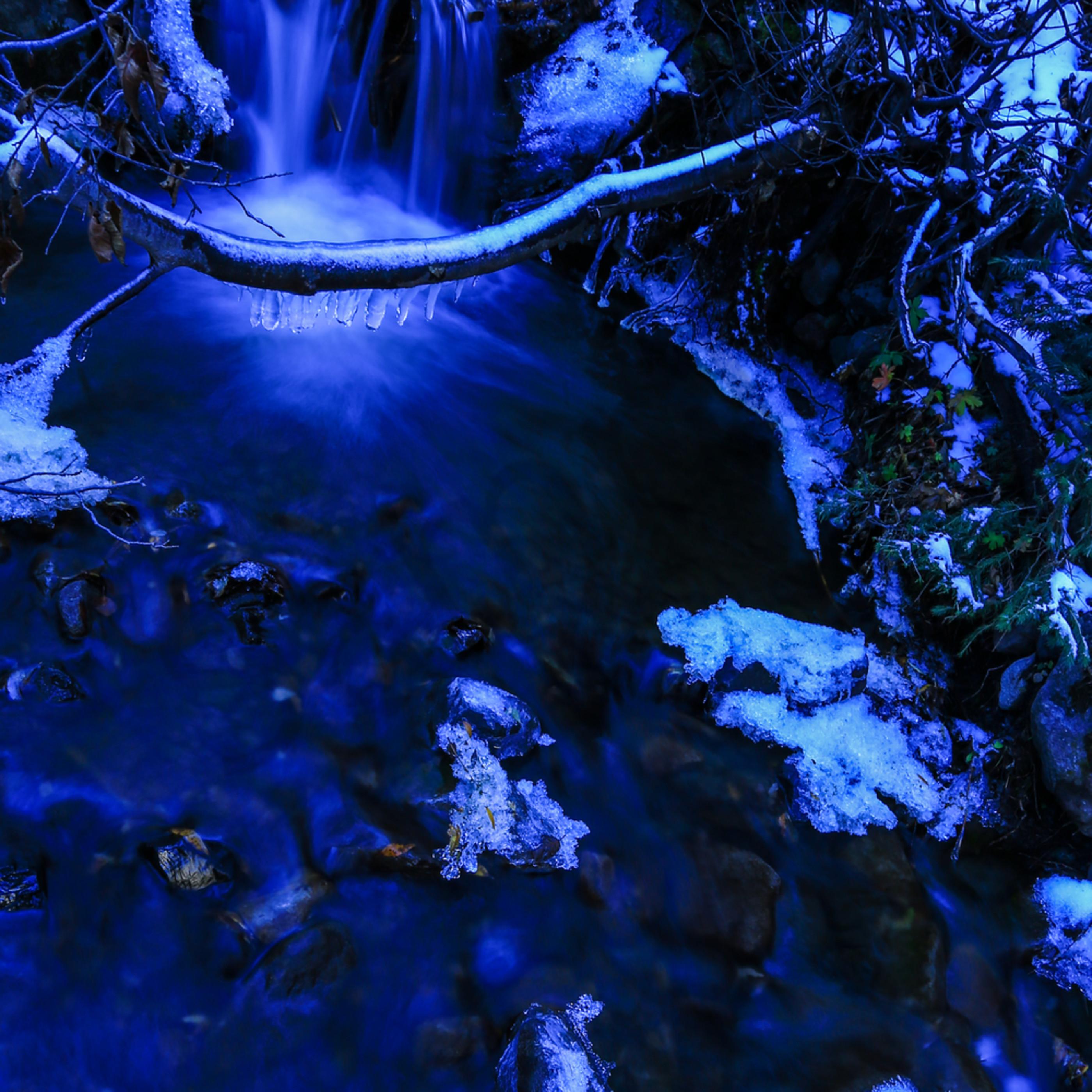 Winter falls sygvke