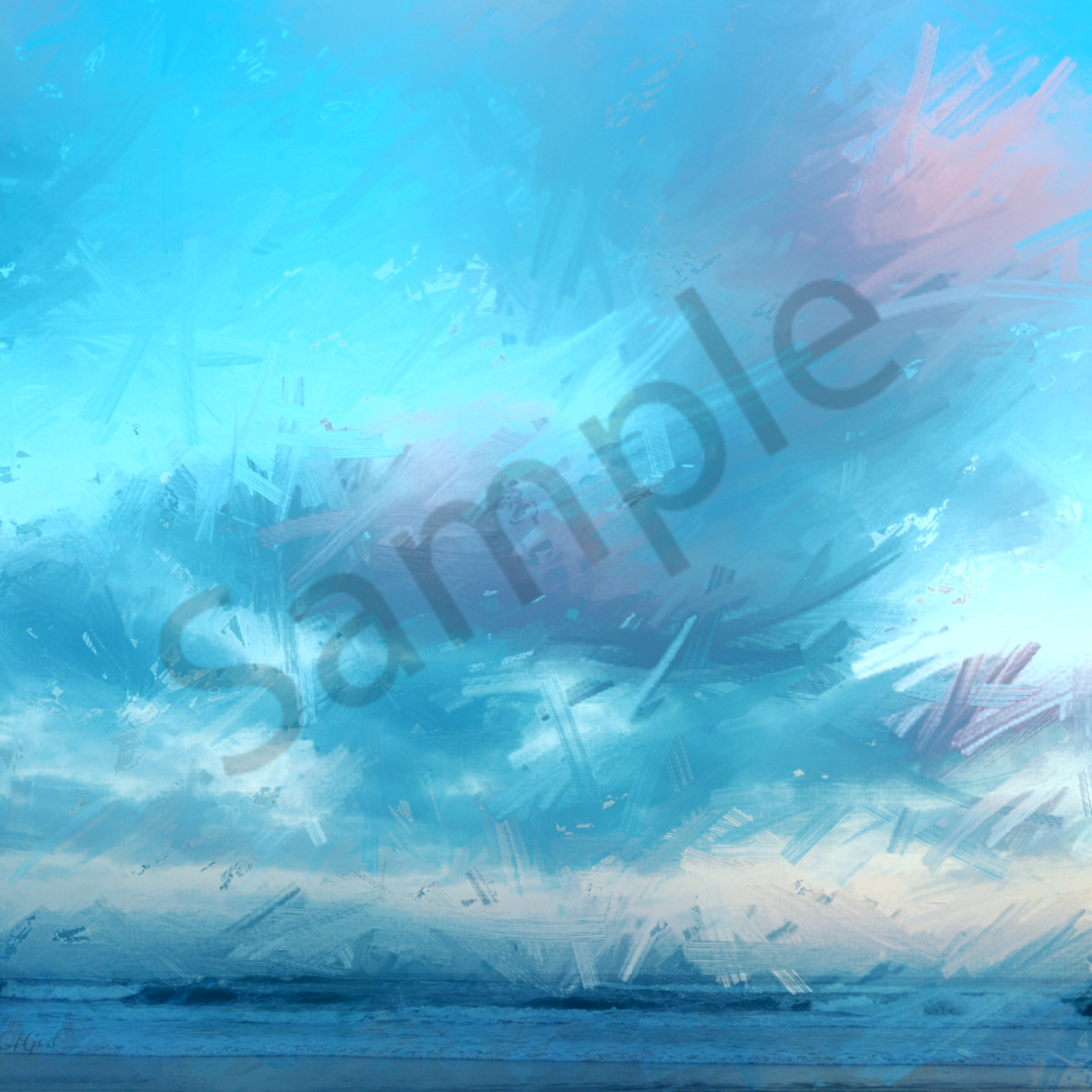 the heavens are high above the earth   0020 abstract clouds and waves enlight27   art4theglryofgod fxinrm