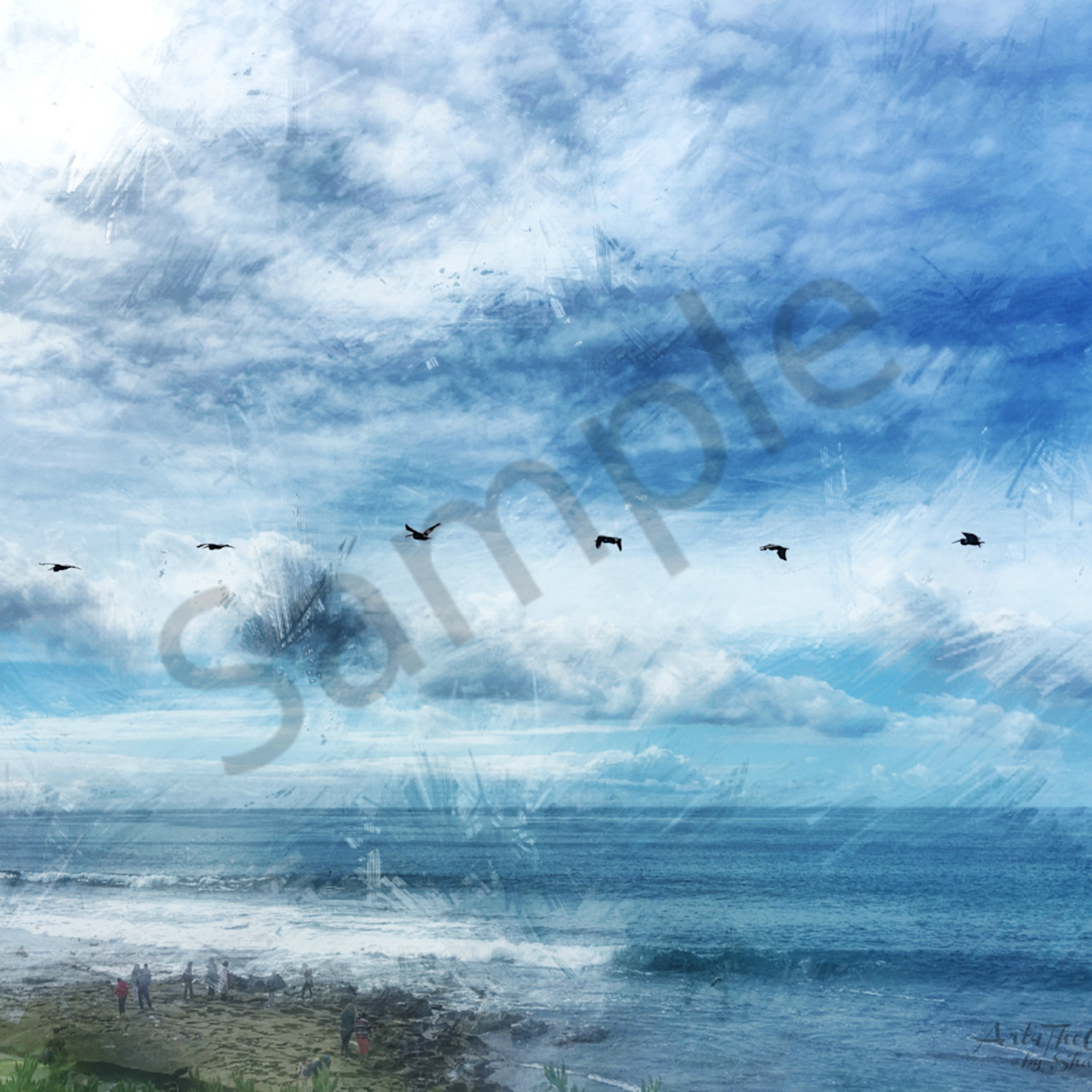 Question the beauty   img 3045 la jolla pelican squadron flying over the ocean 2019   abstract enlight372 cmbn art4theglryofgod pkykgo