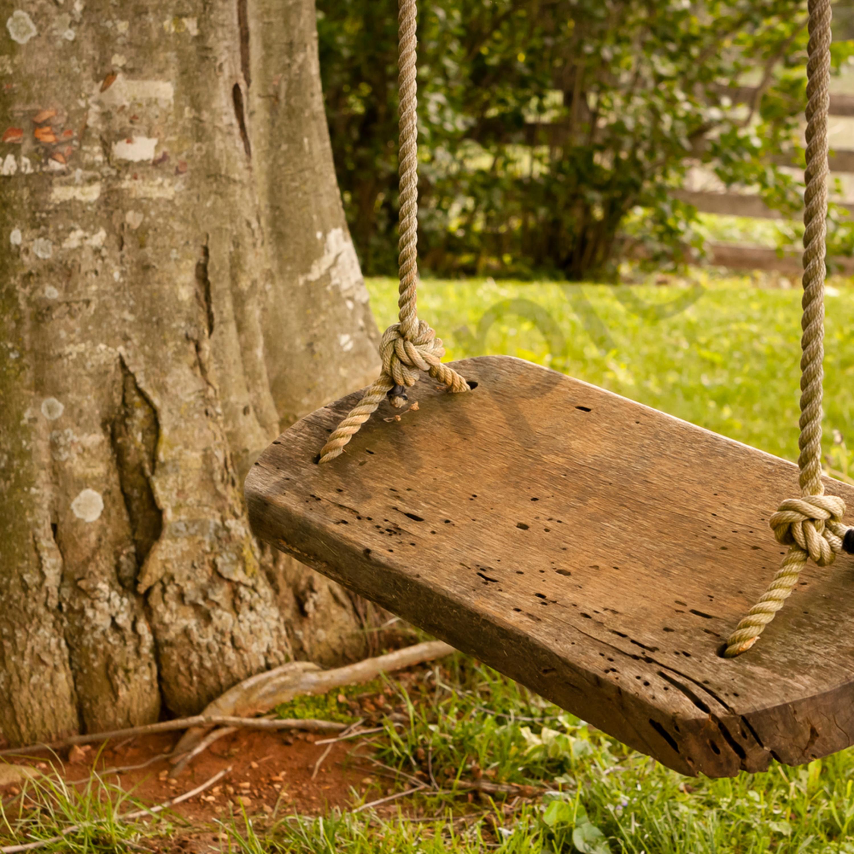 Wood swing waiting c vru3sn