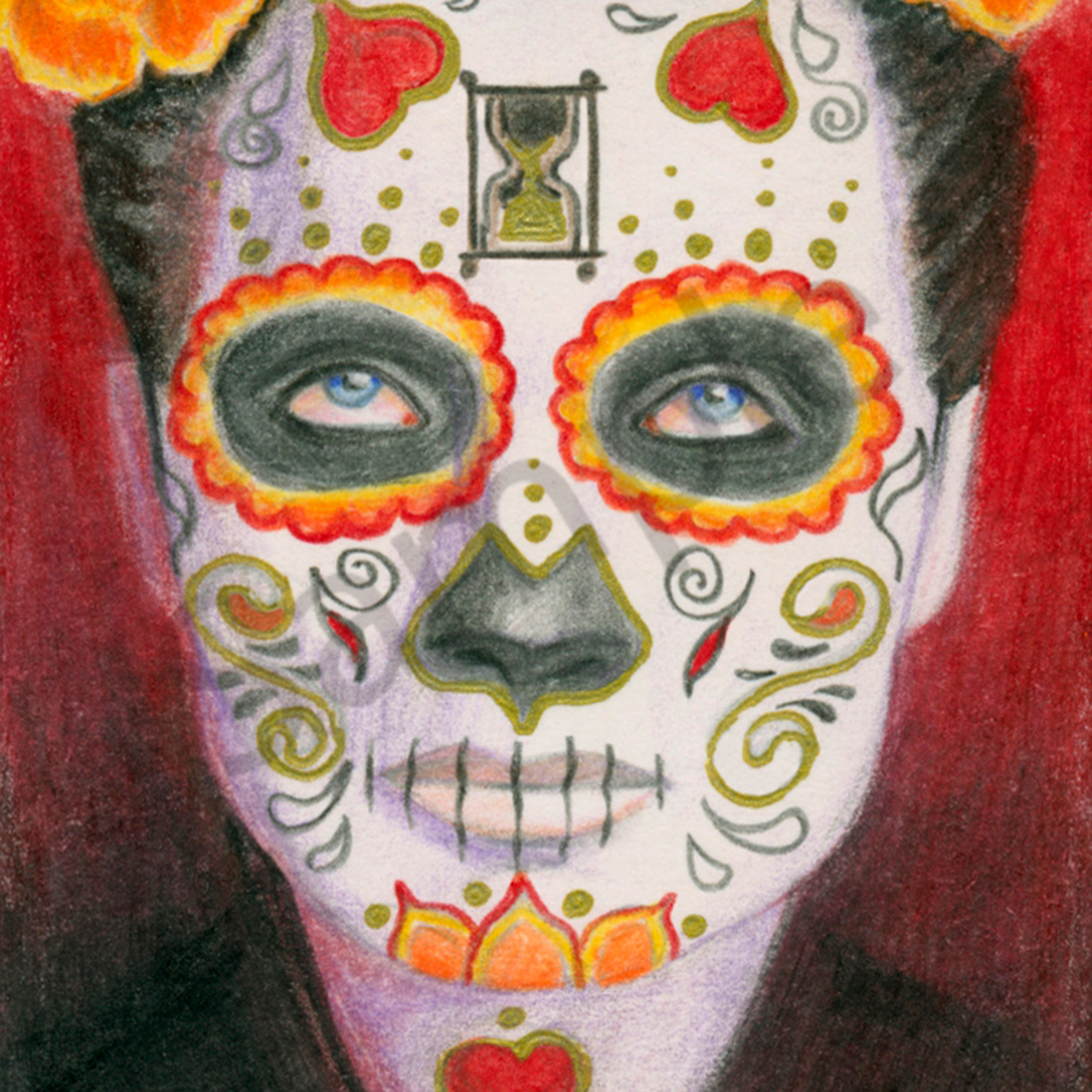 Day of the dead 10 x 14 gvun2w