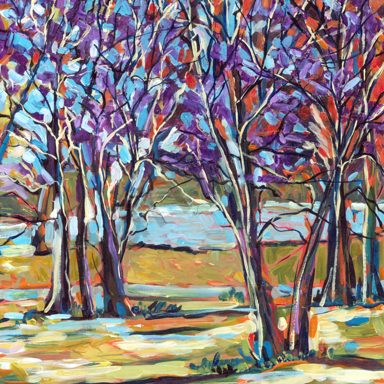 Tree scene small file cccqhy