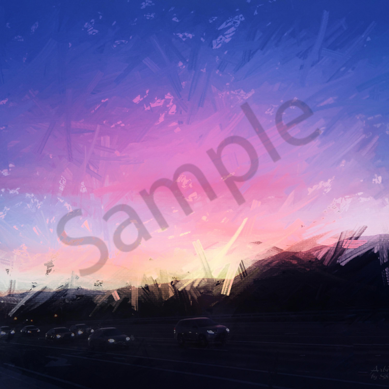 Img 0854 sunrise toward spring skiing april 2019   abstract enlight91   ps paint daubs   art4theglryofgod igfwpu