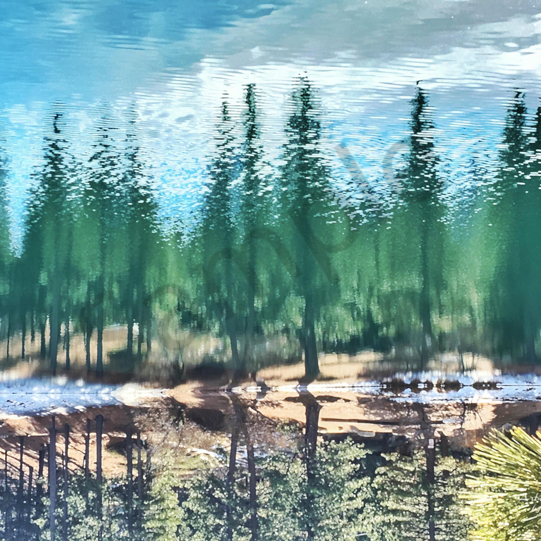 Img 1697 green lake reflection in big bear   ps paint daubs   flip art4theglryofgod 2018 xcjdqf