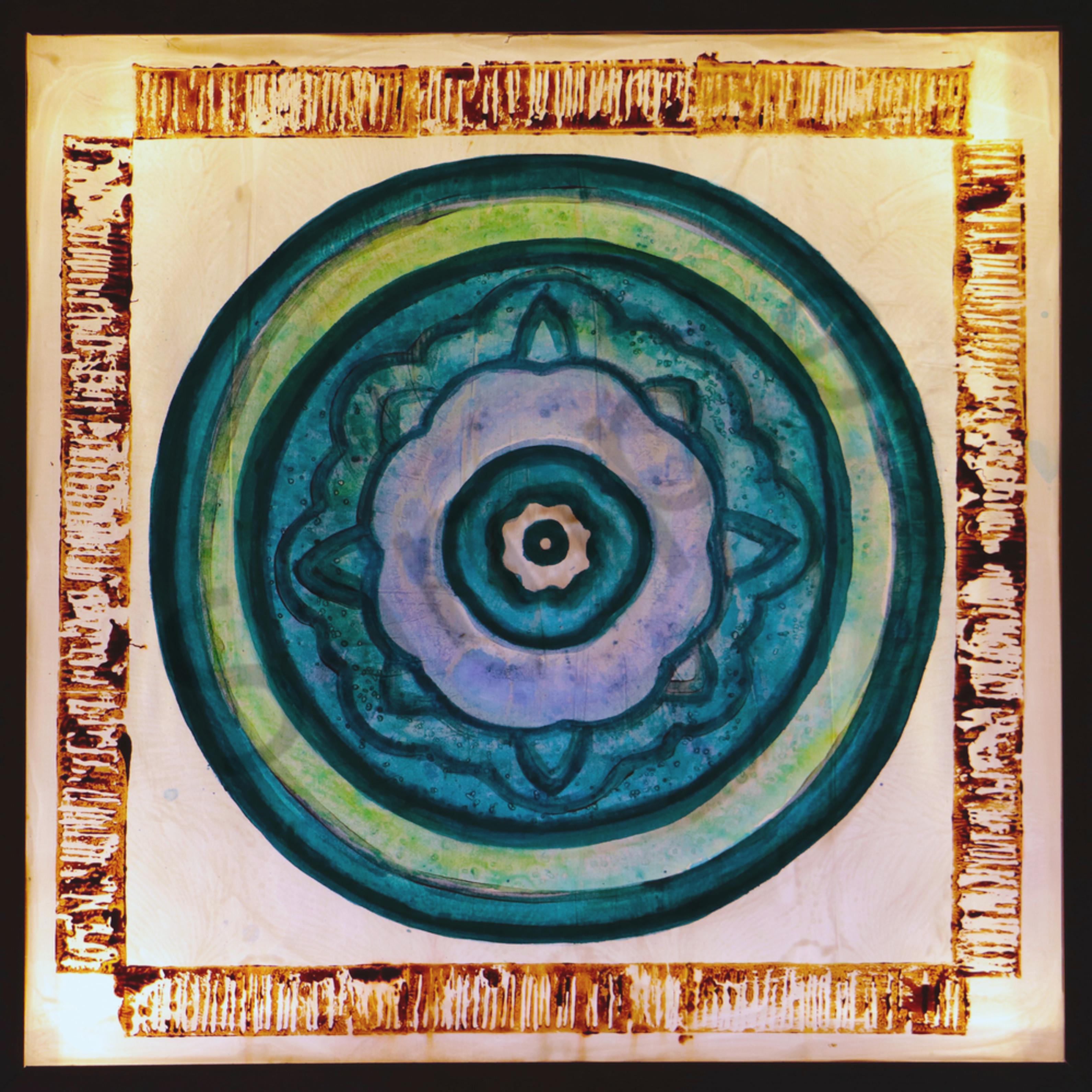 Zen blue dot lit tbnzqy
