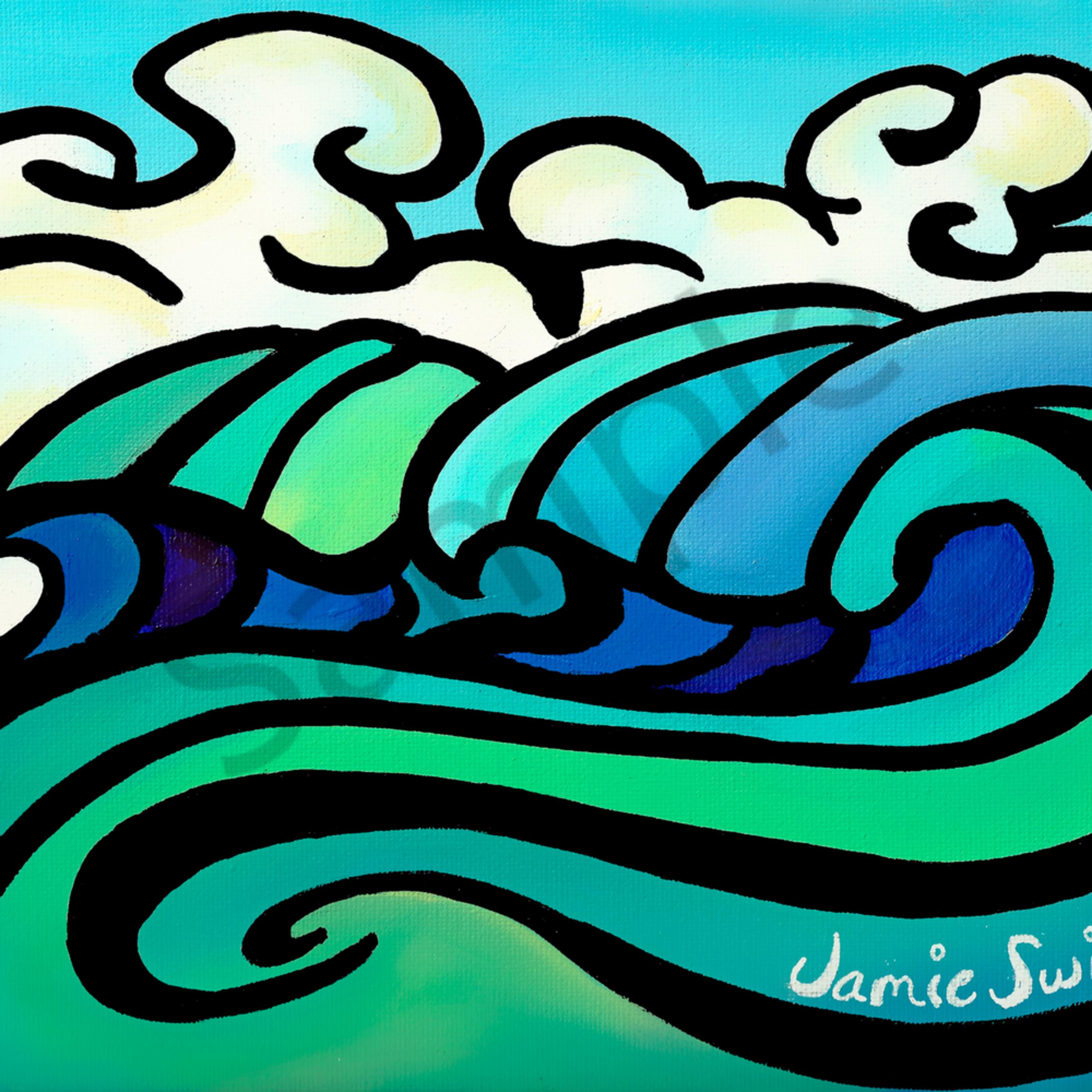 Ai swim wave of clouds jwxeyh