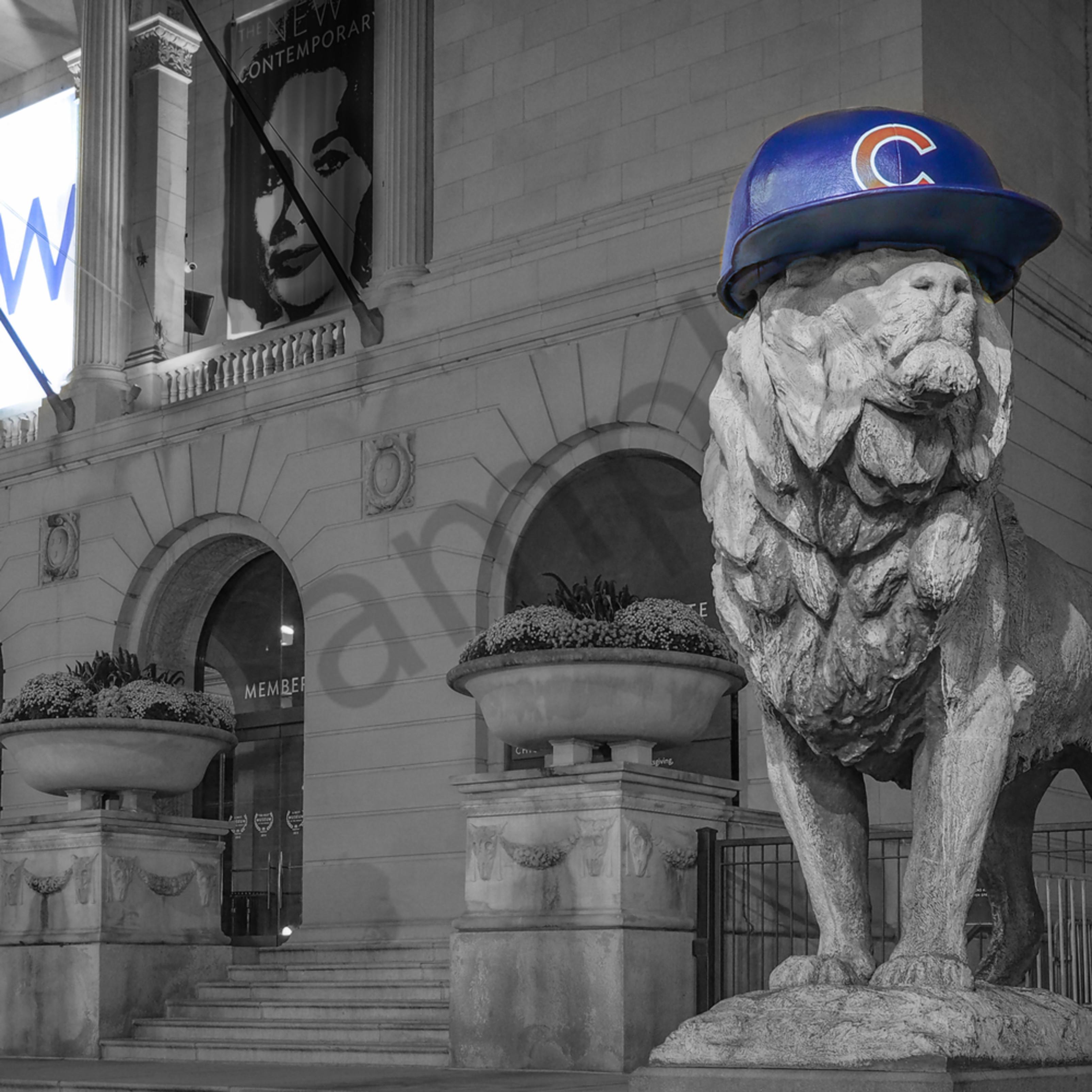 Chicago cubs lion dfvjet