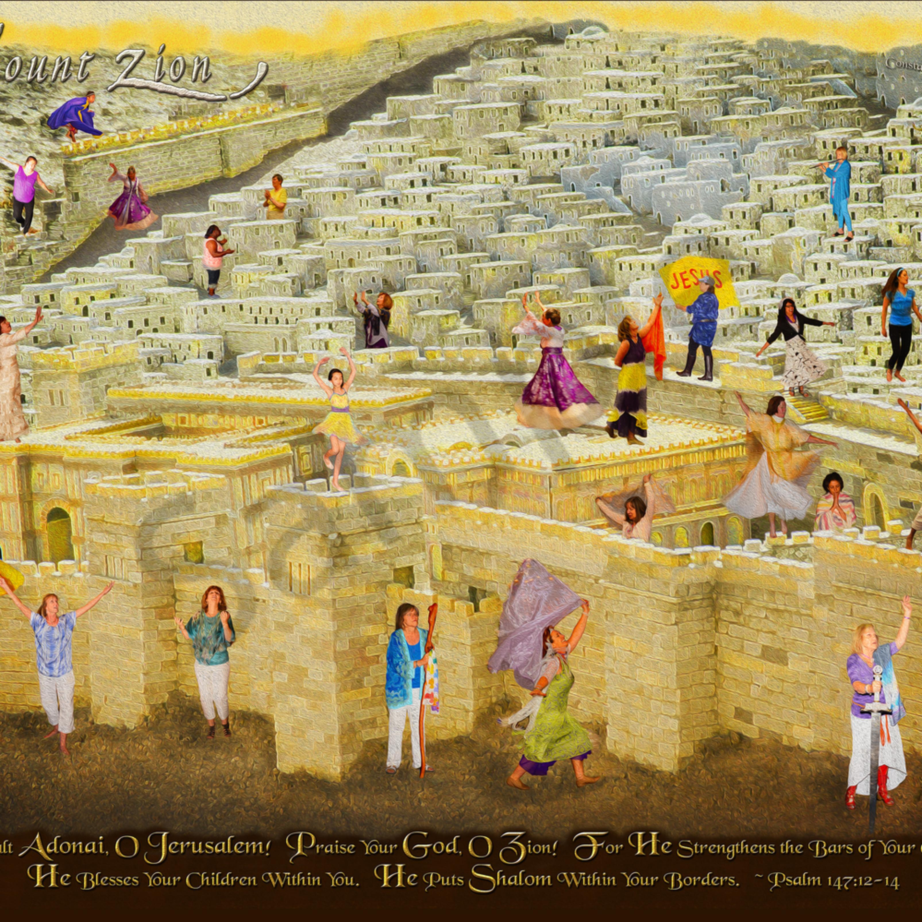 Mount zion praise by constance wood varakx