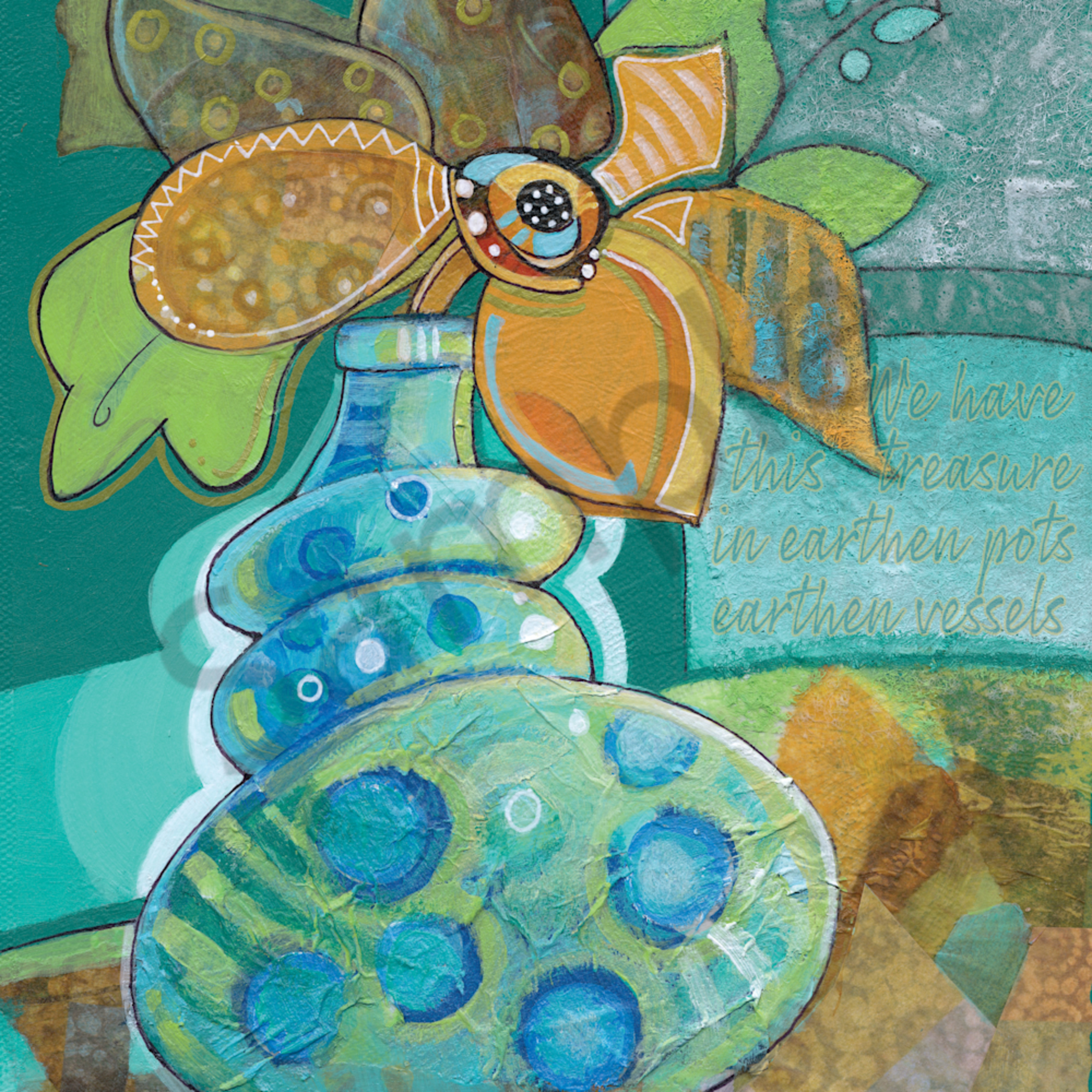 Treasure in earthen vessel linda by linda davis nfnrt8