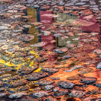 Cobblestone reflection x0pnxf