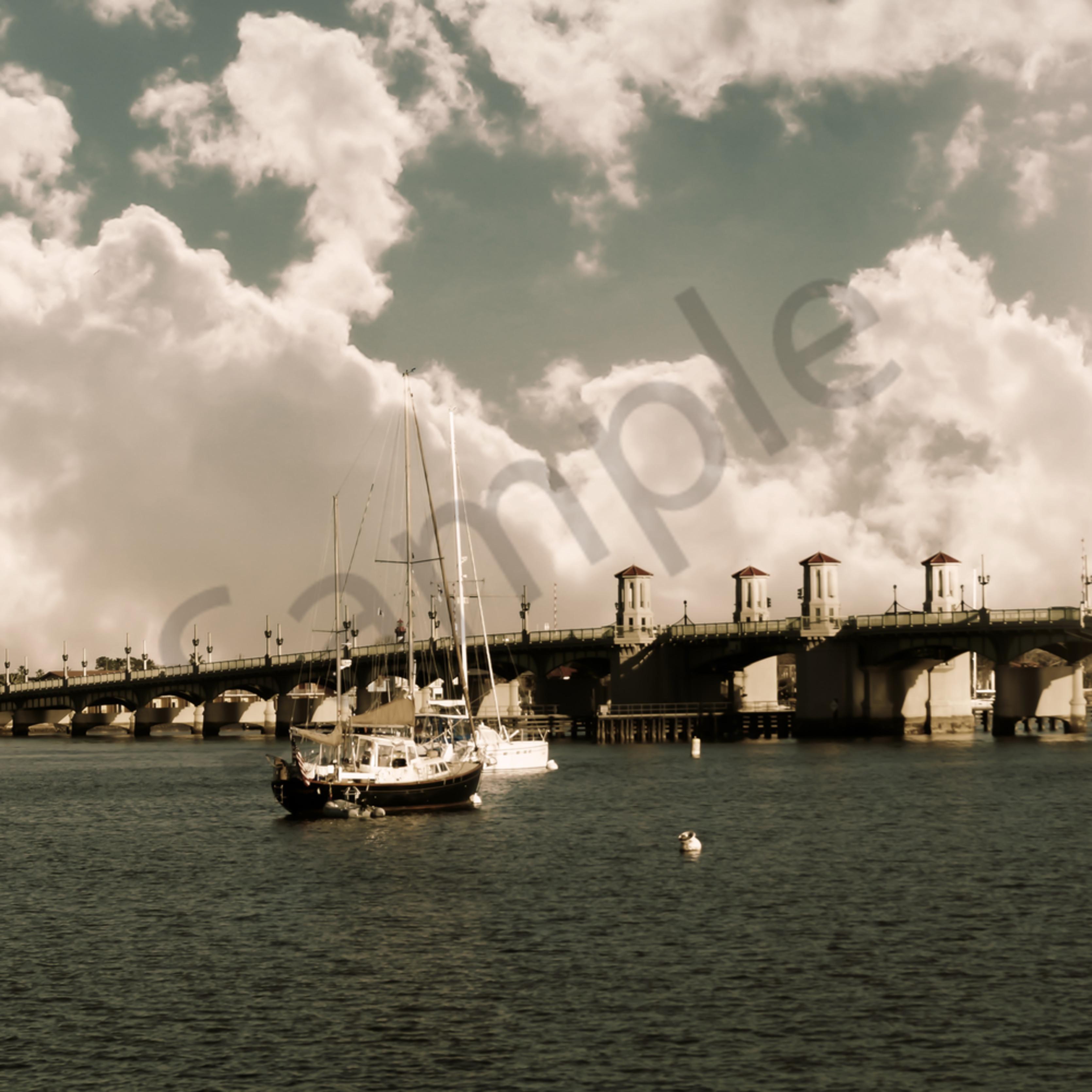 Sailing in st.augustine iim90p