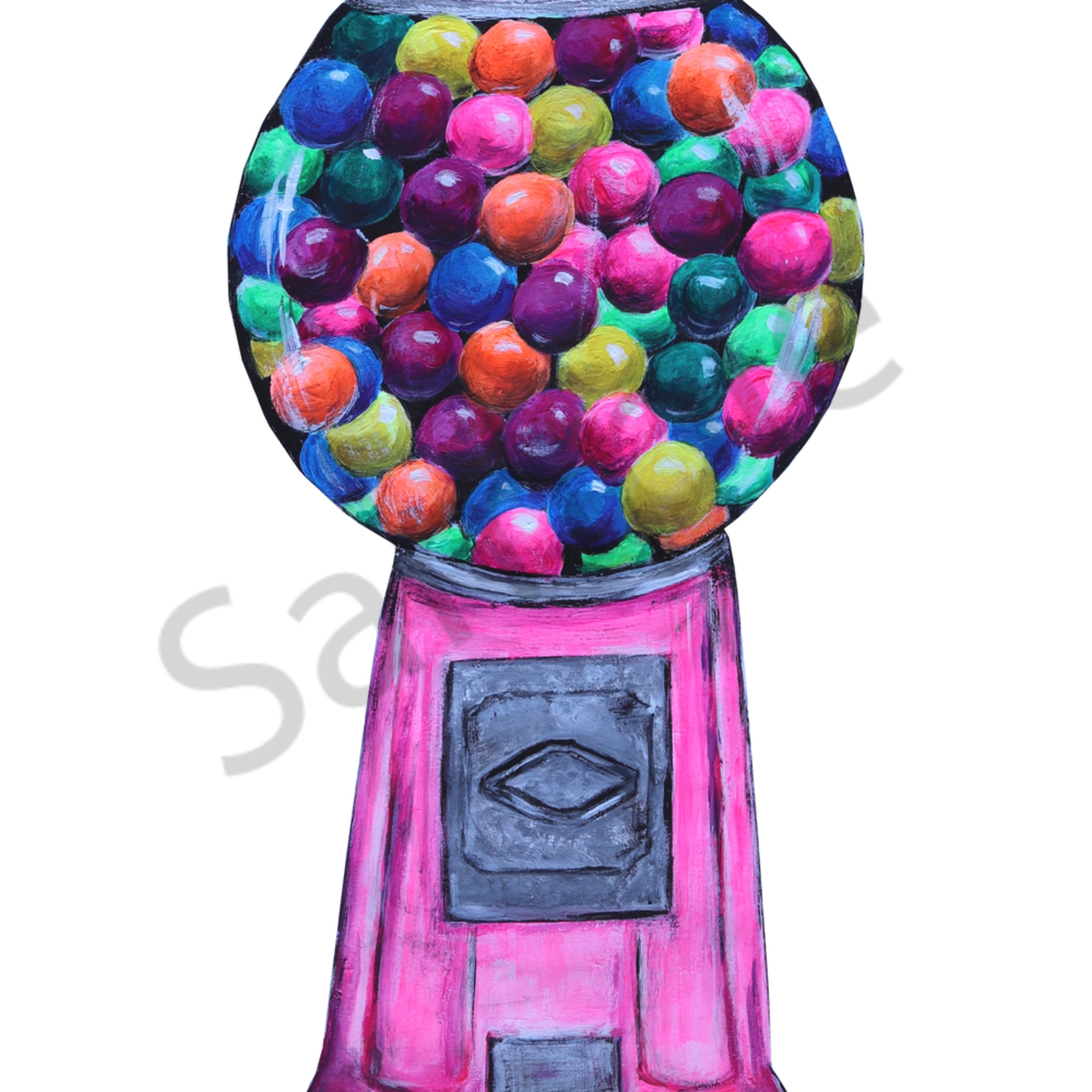 Bubble gum machine euqnzj