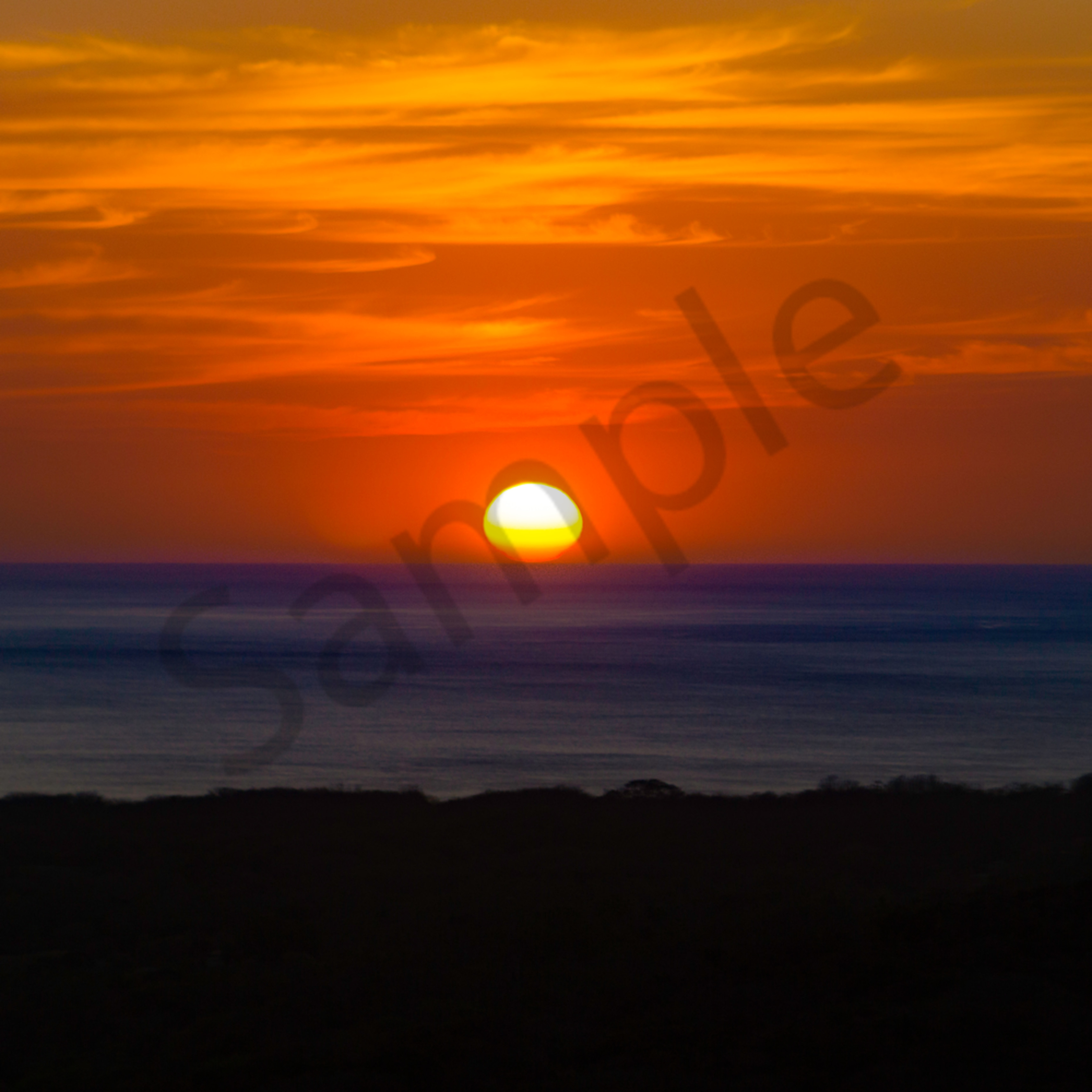 Nosara sunset 001 w5rkjb