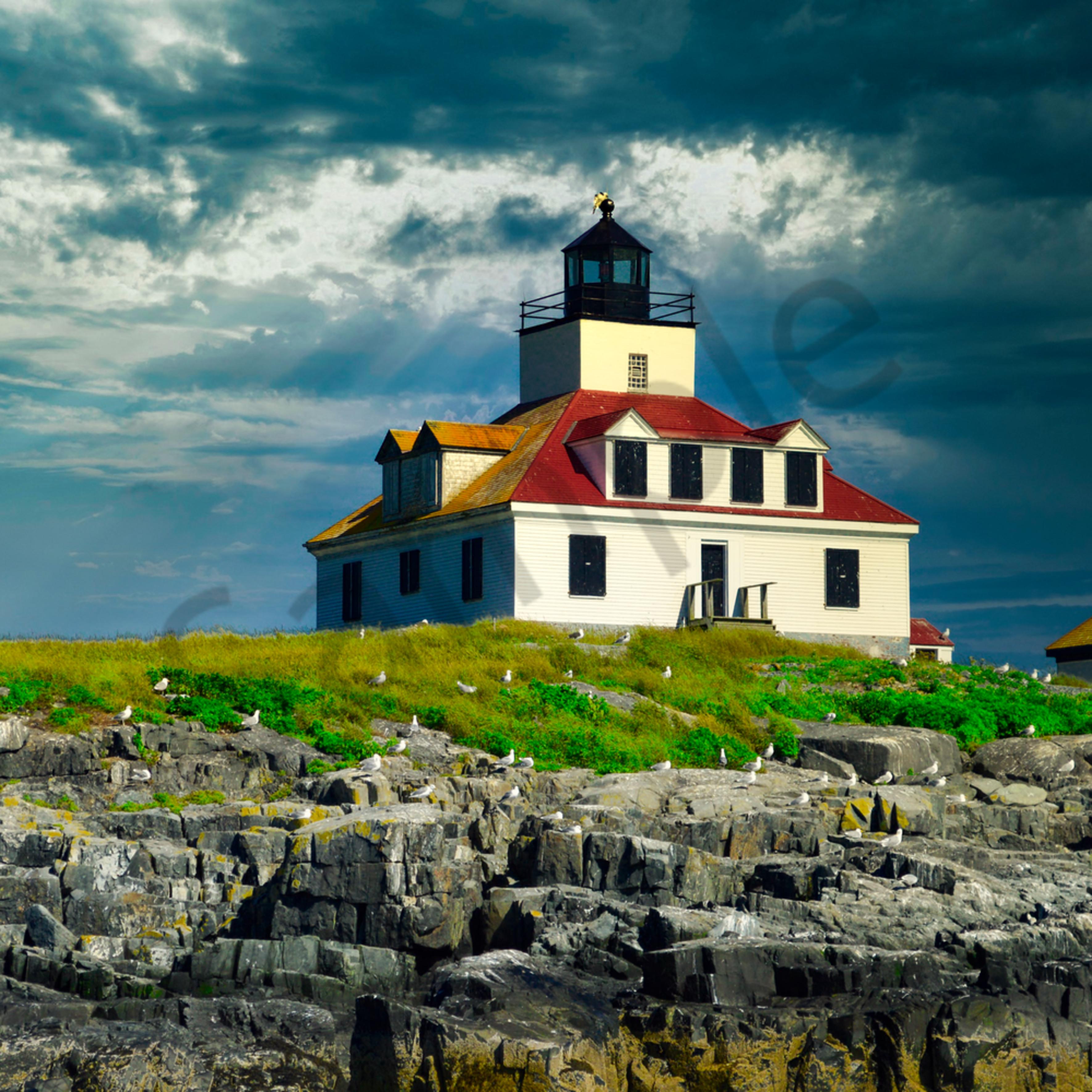 Egg rock lighthouse xrloj6