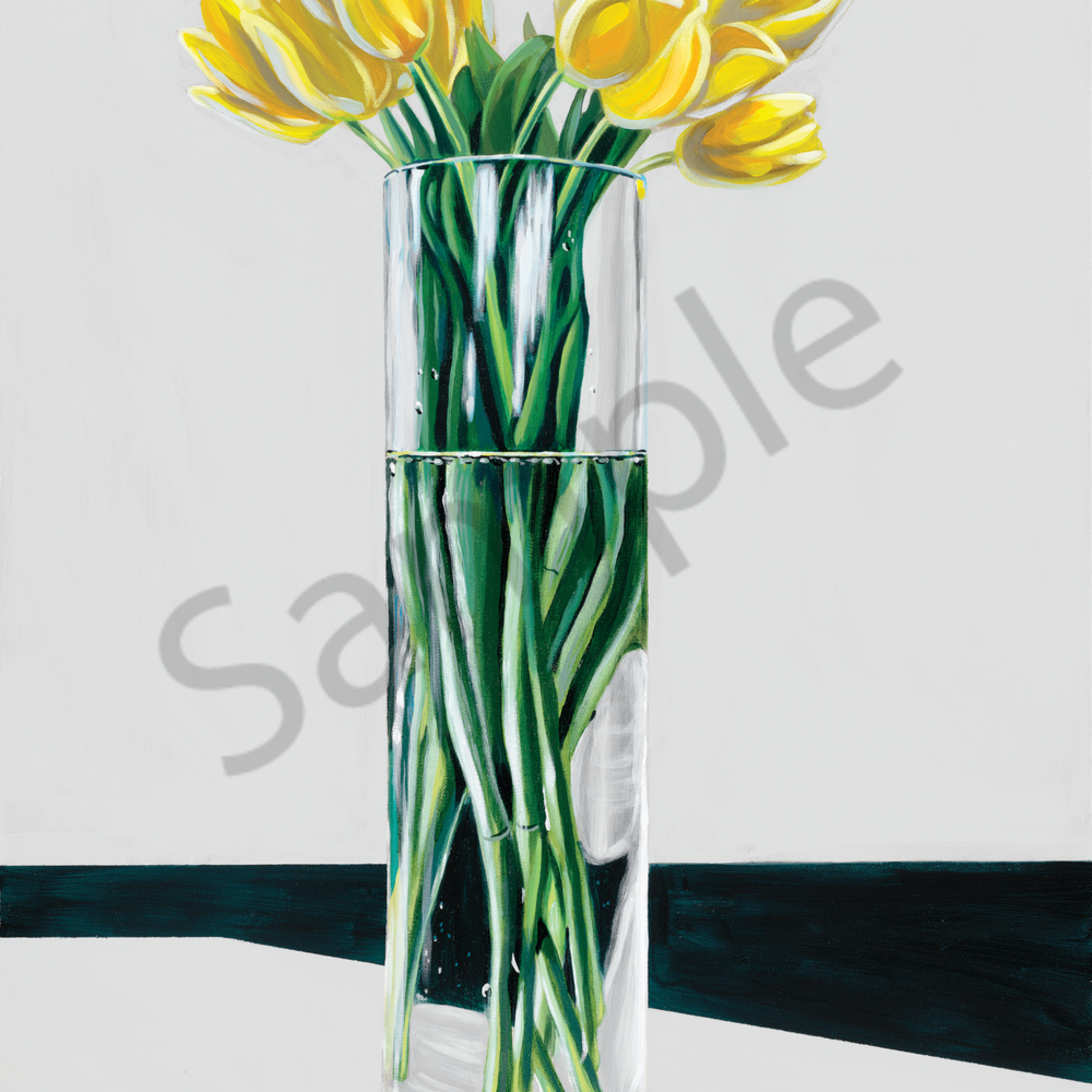 Asf   yellow tulips wpgvmv