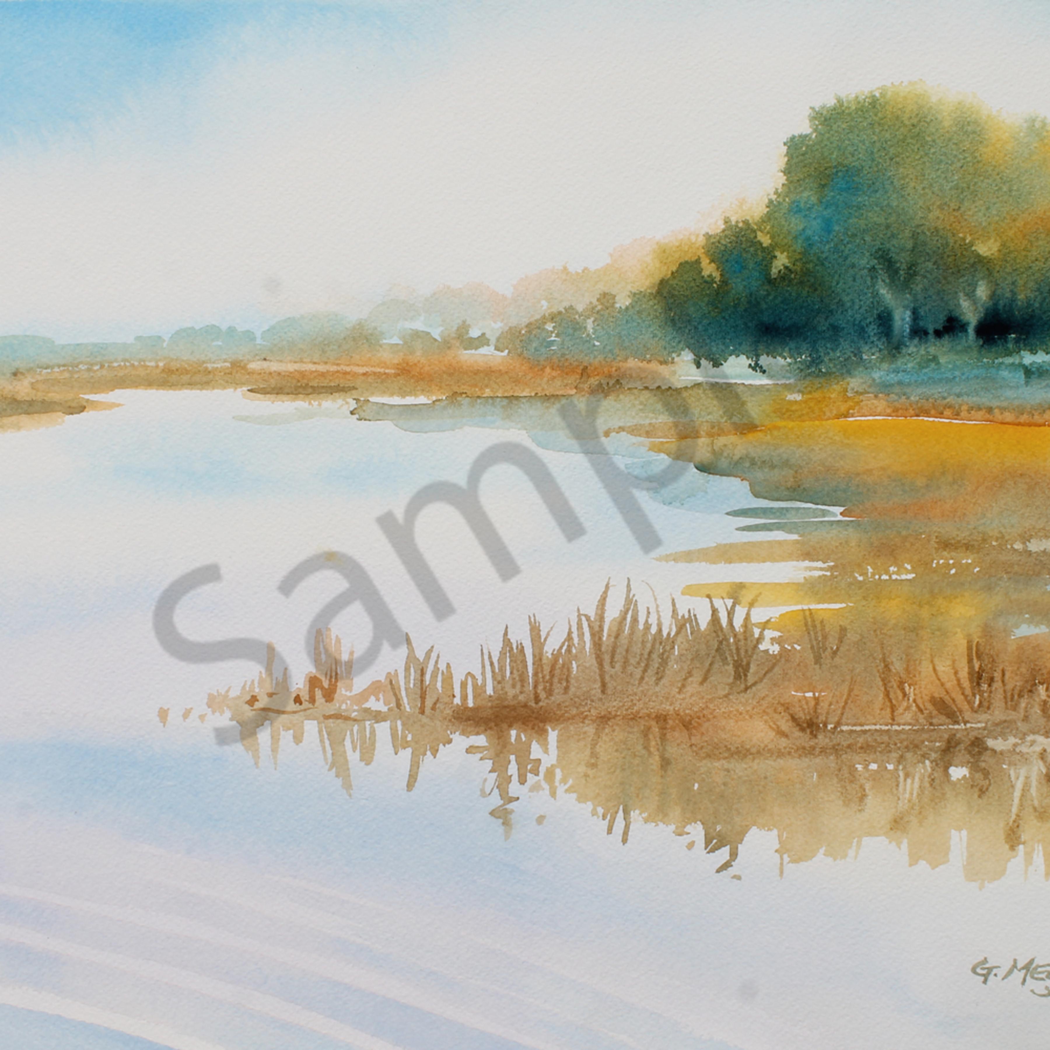 Talbot marsh 2 watercolor 12x16 udk3wa