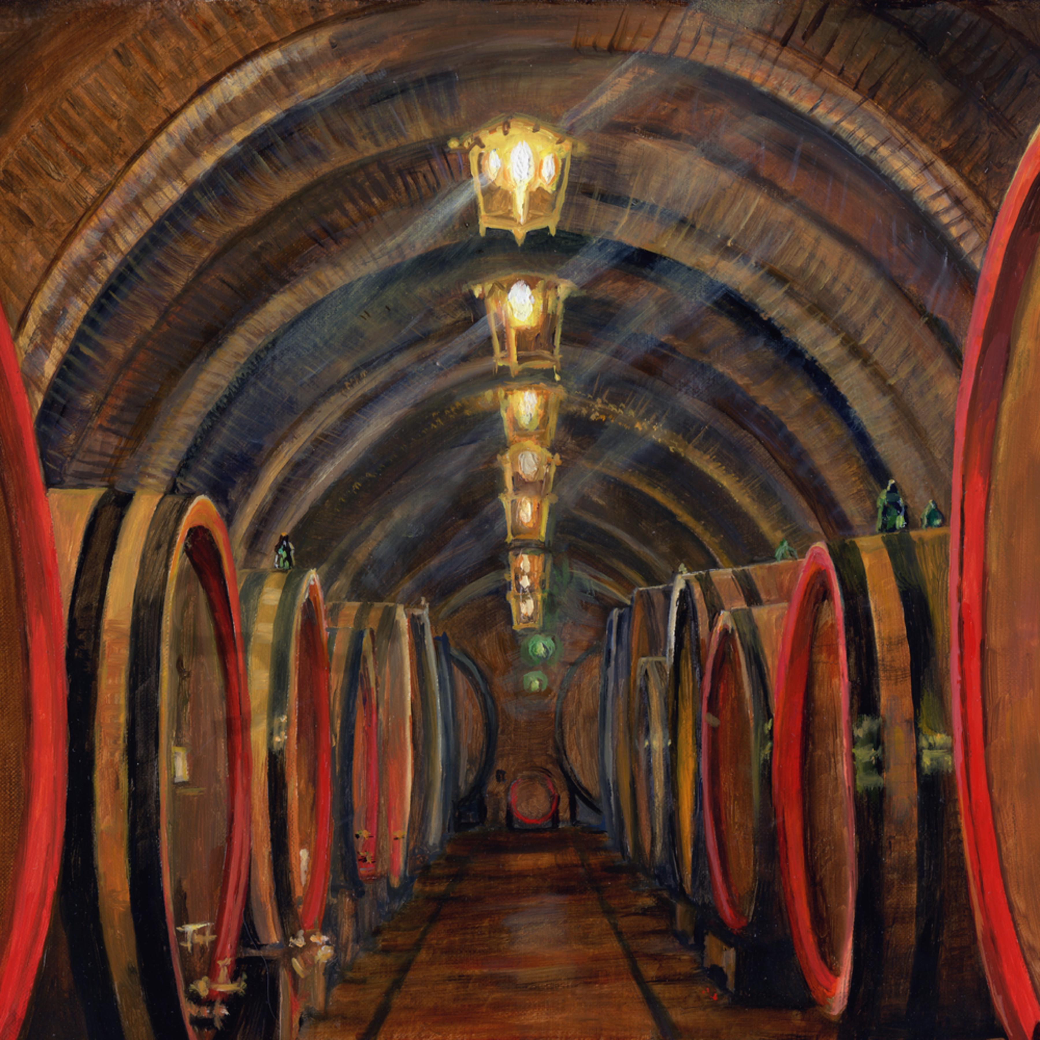 Volterra wine caves c1fw4h