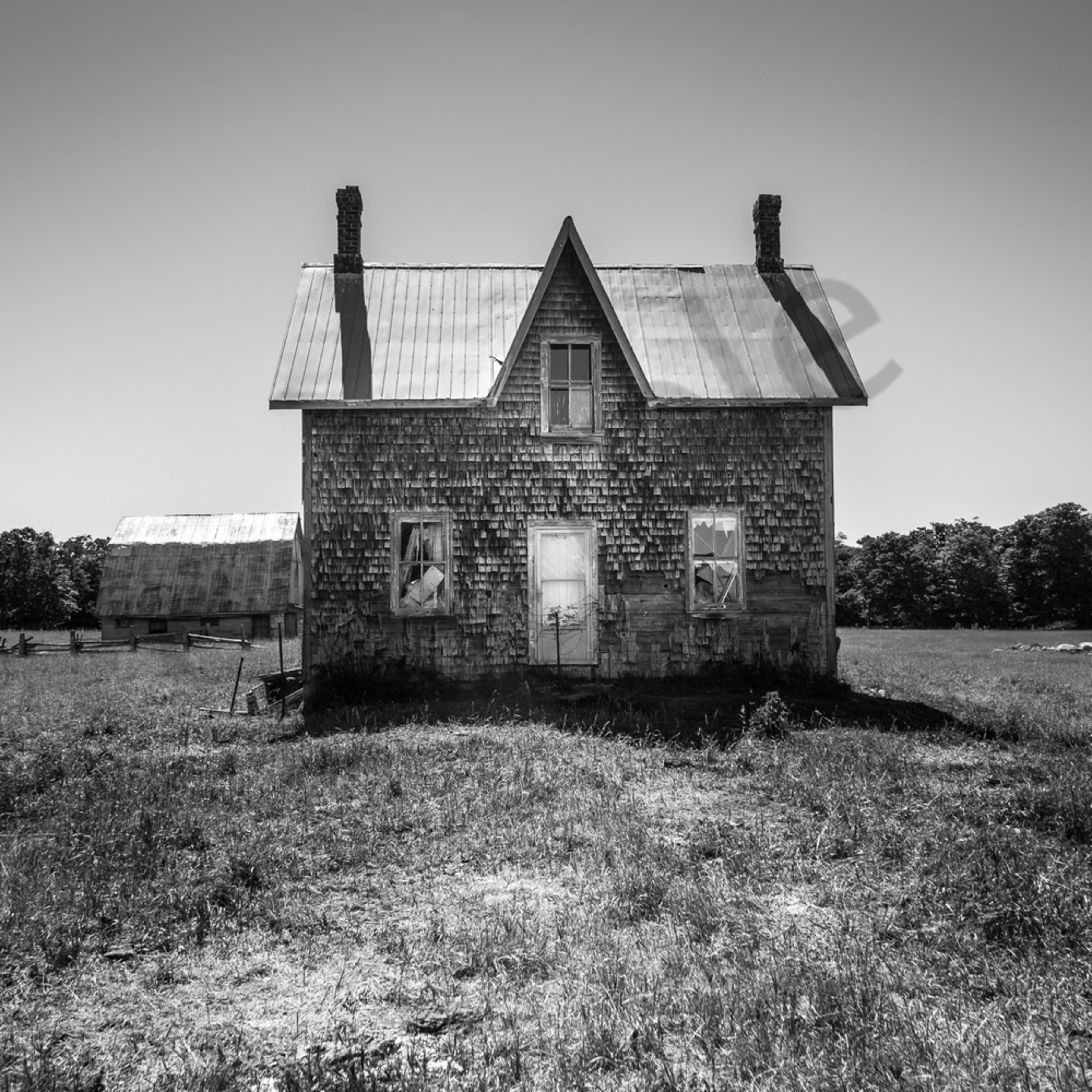 Abandoned cedar house newtjp