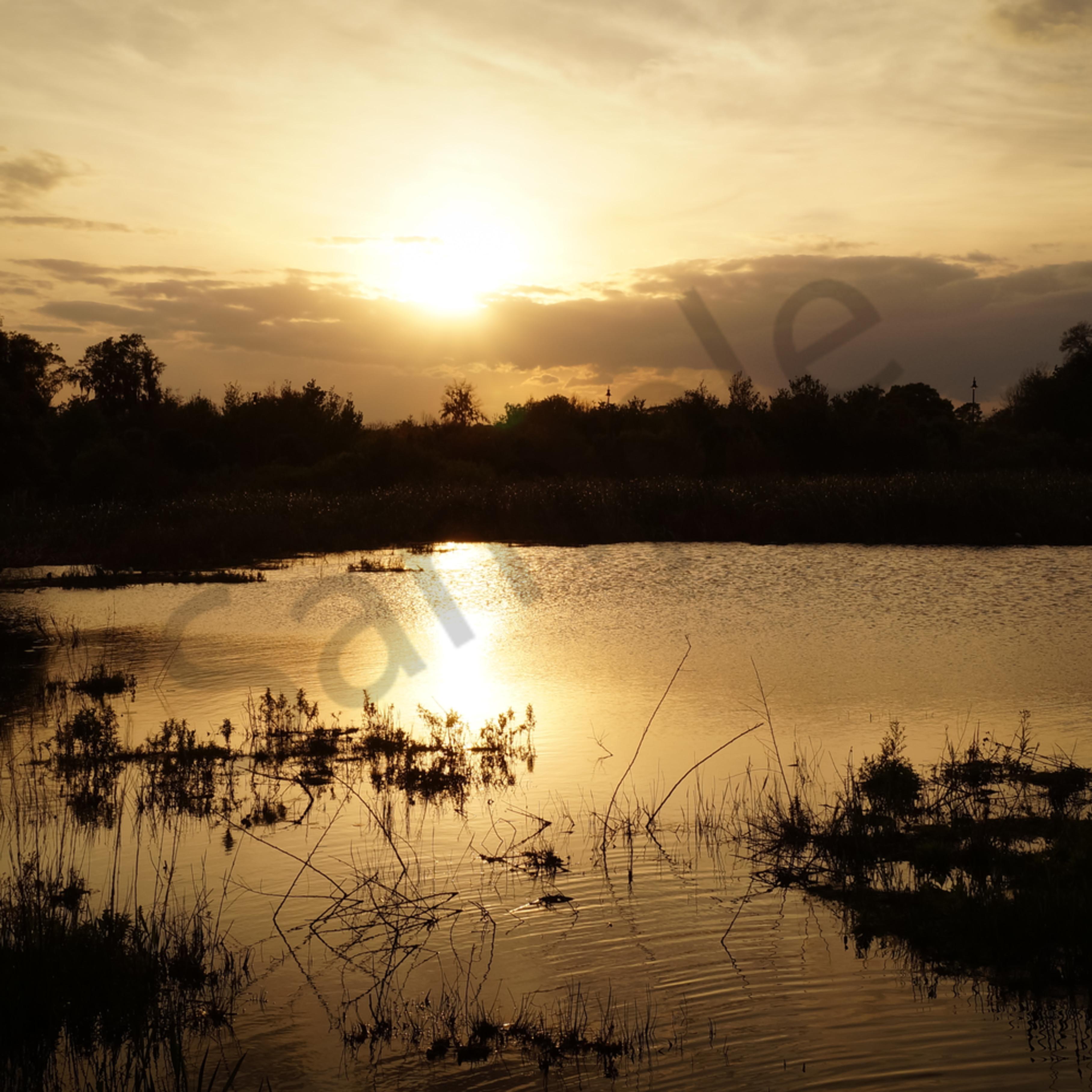 Sunset over the lake jrprrw