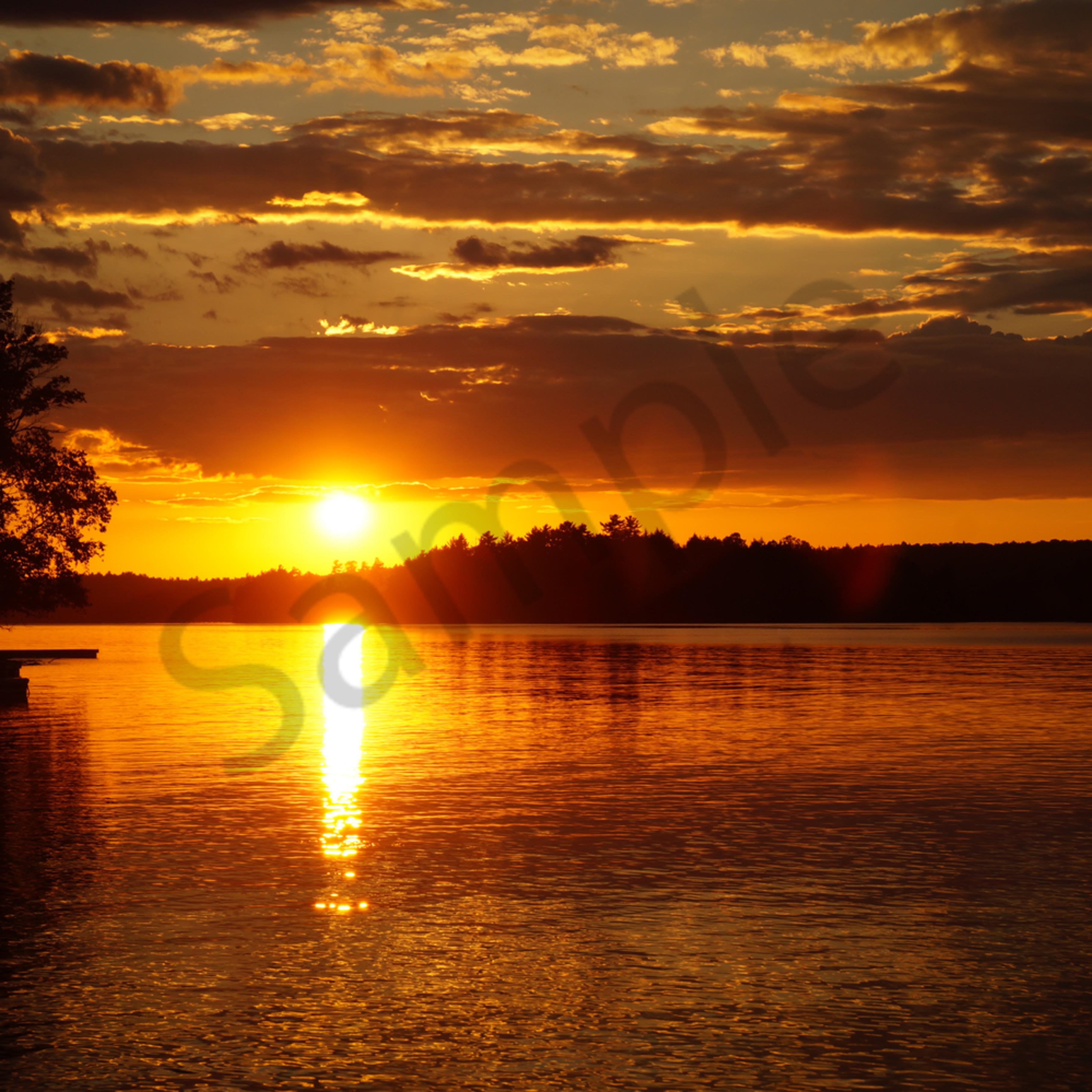 Cottage sunset xlxynp