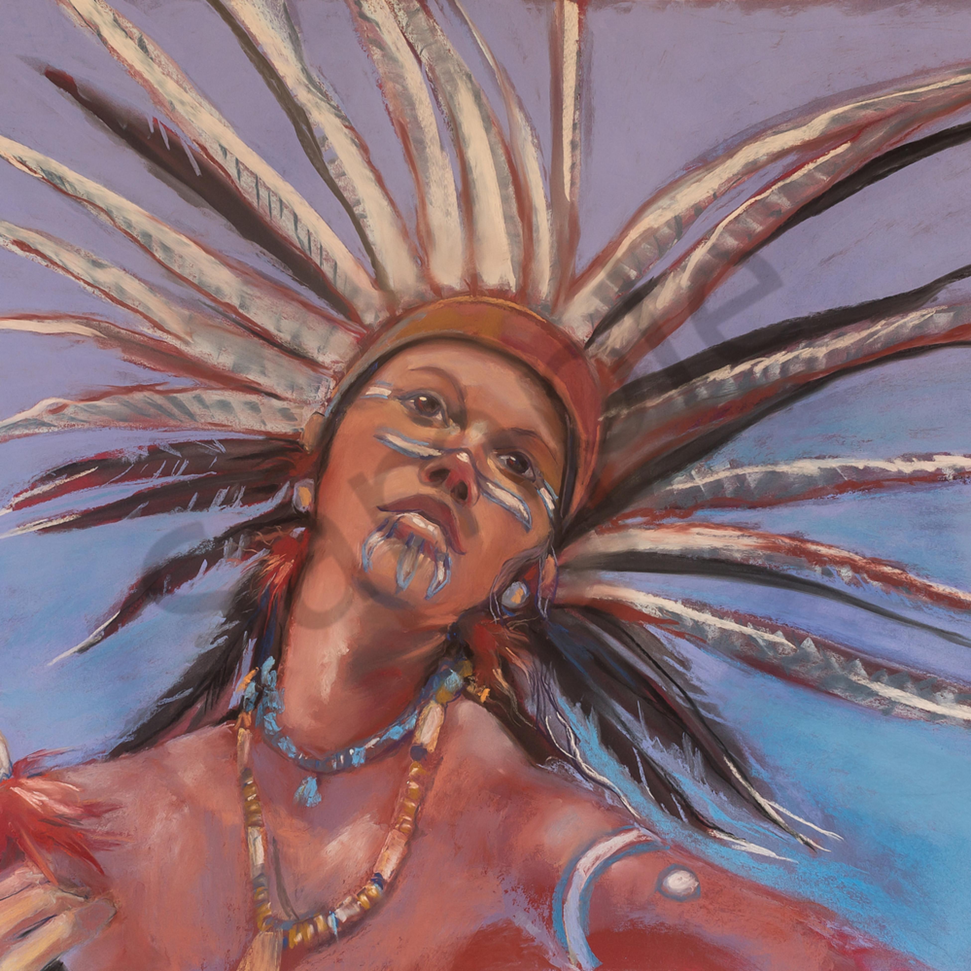 Mayan dancer jpeg 20x13 f28k1e