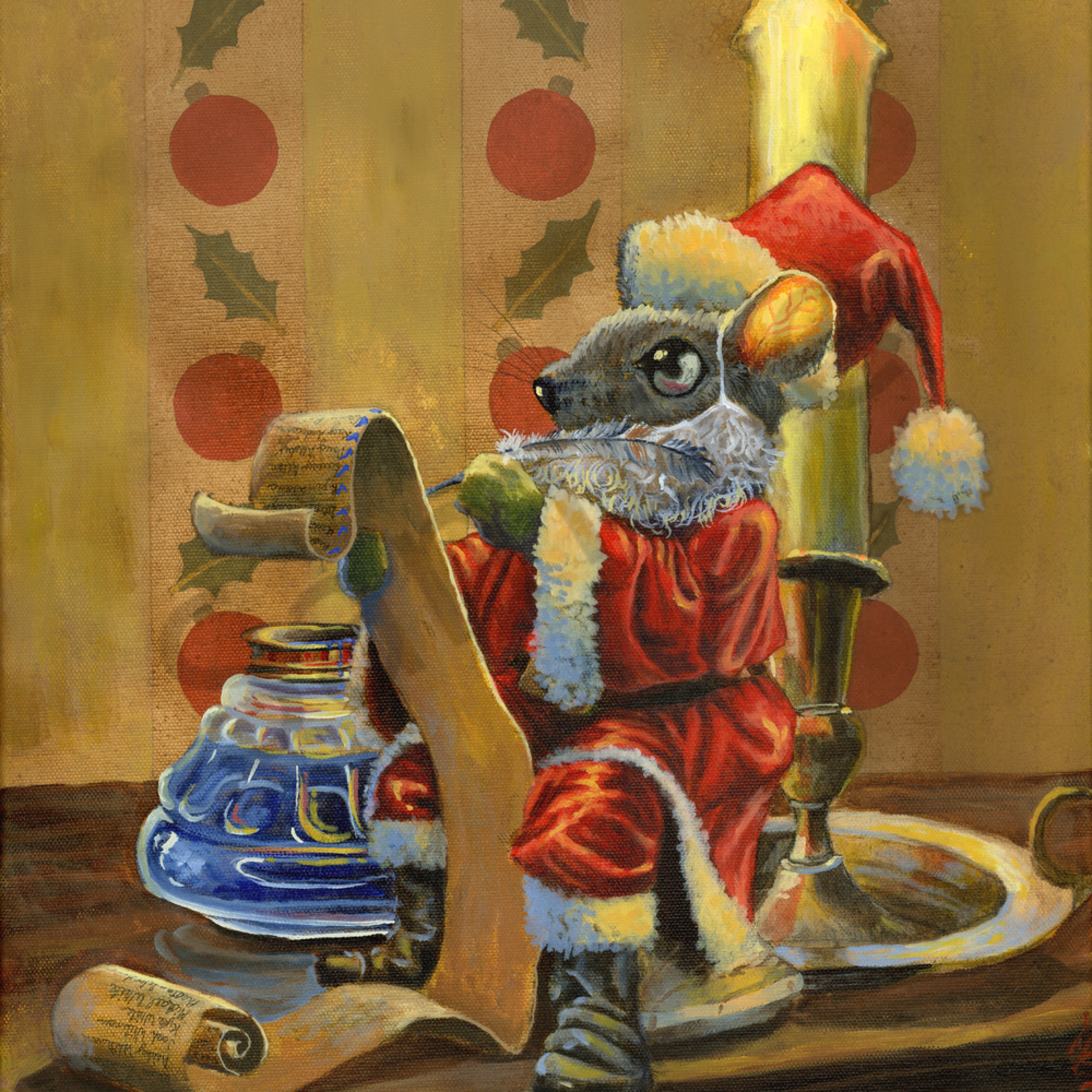 Santa mouse aibutv