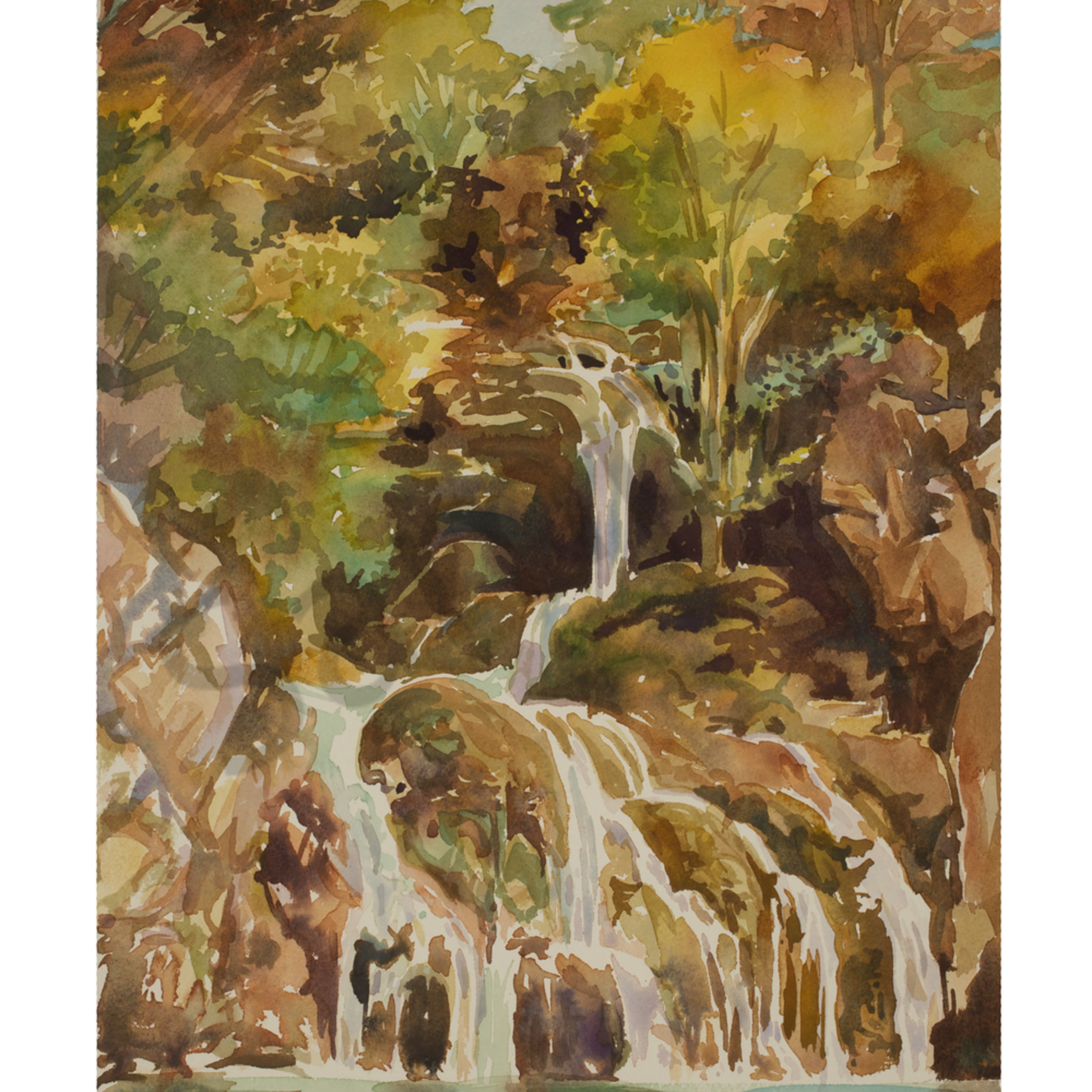 Falls of gorge du verdon france 14x20 cp wc sb2h8i