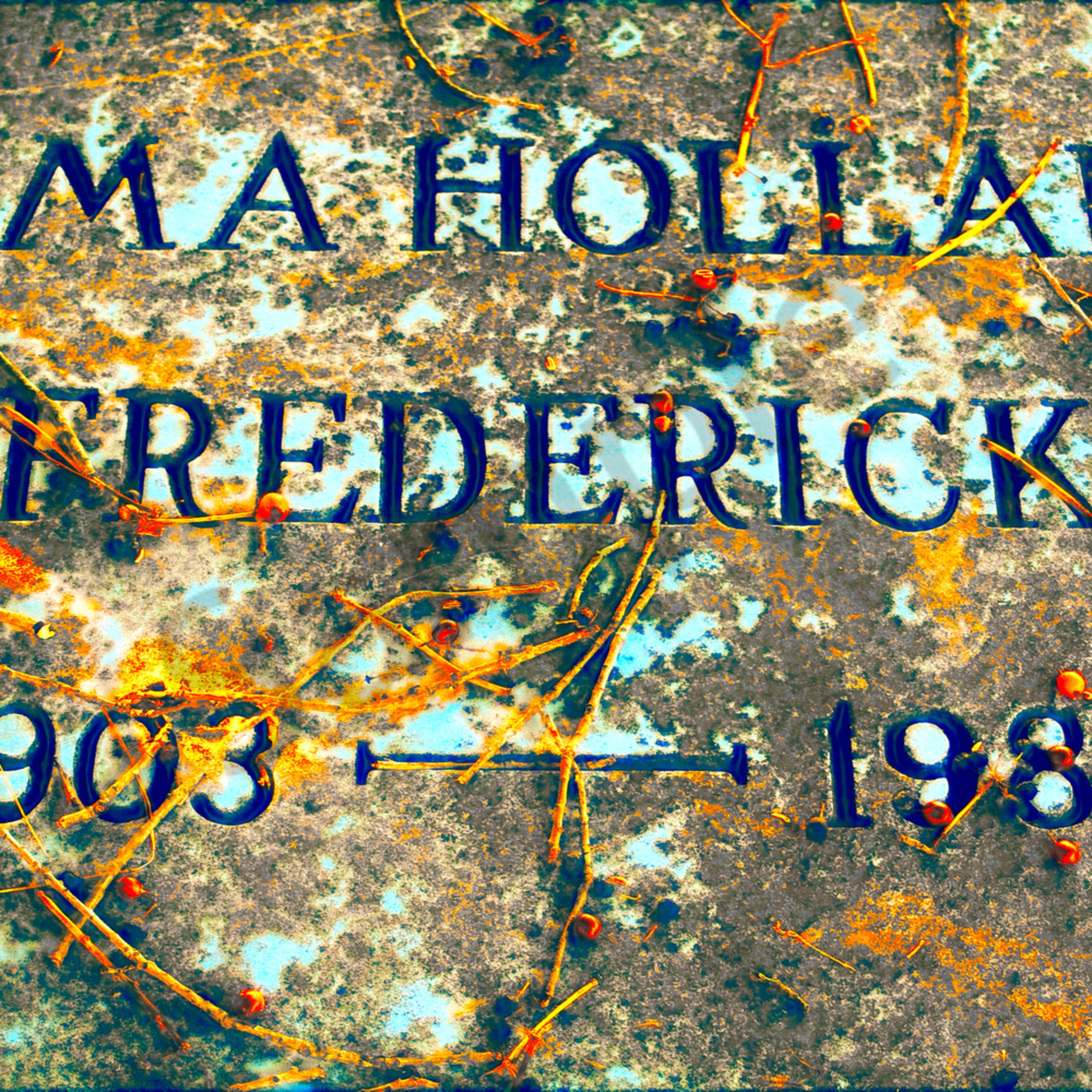 Elma holland frederick gravestone website hbxlow