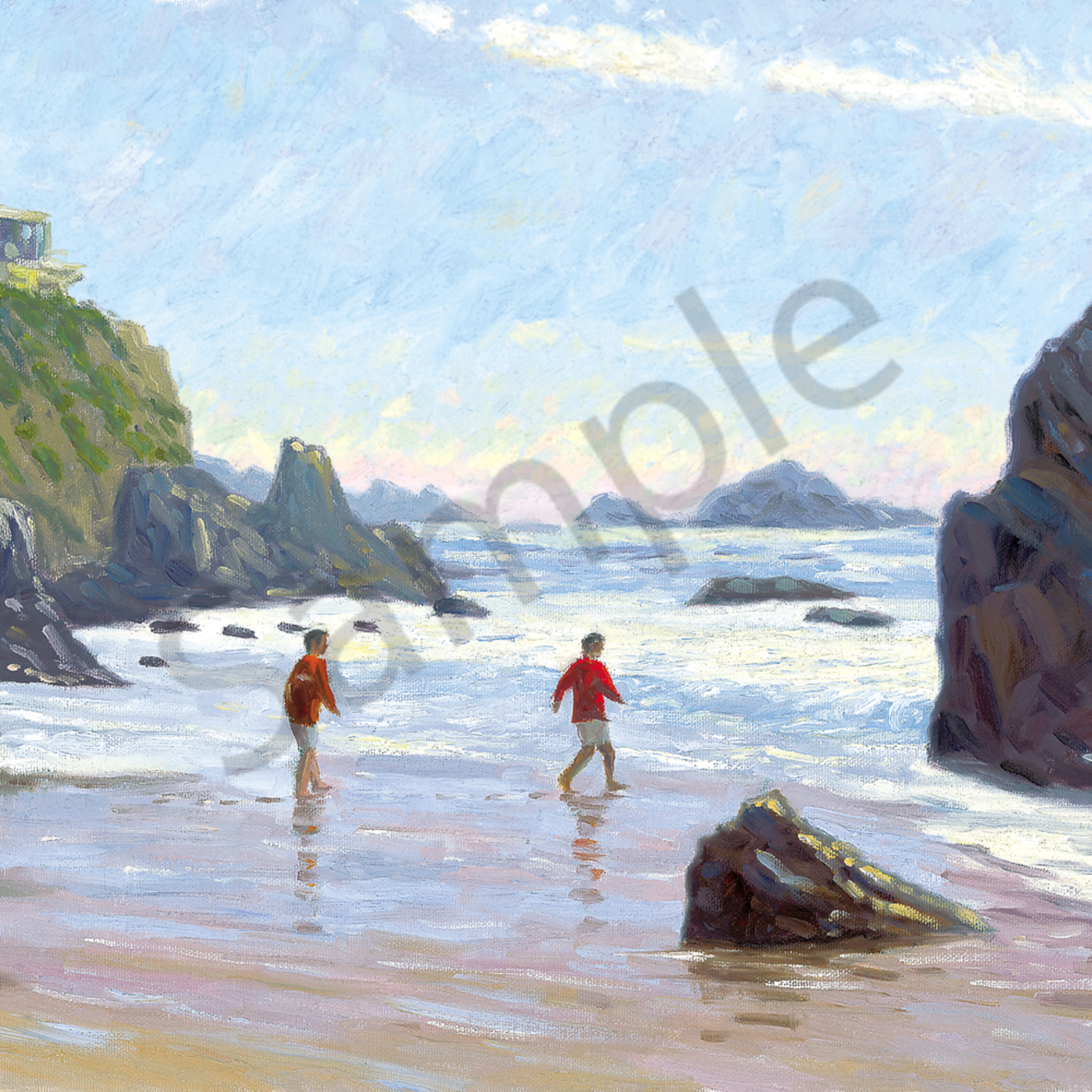 Kids on beach cdm acmm1m