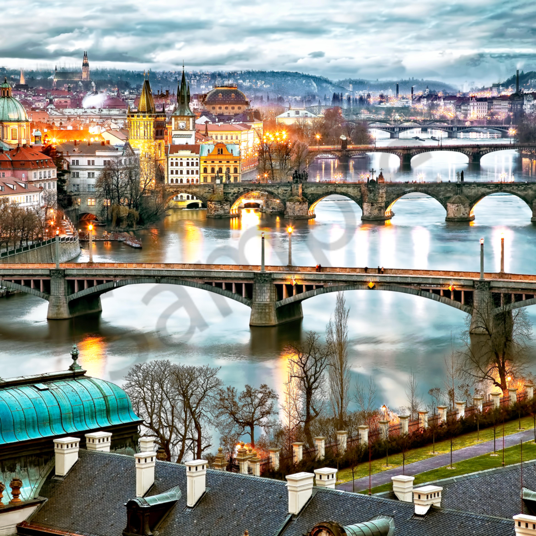 Bridges of prague czech republic evmx1j