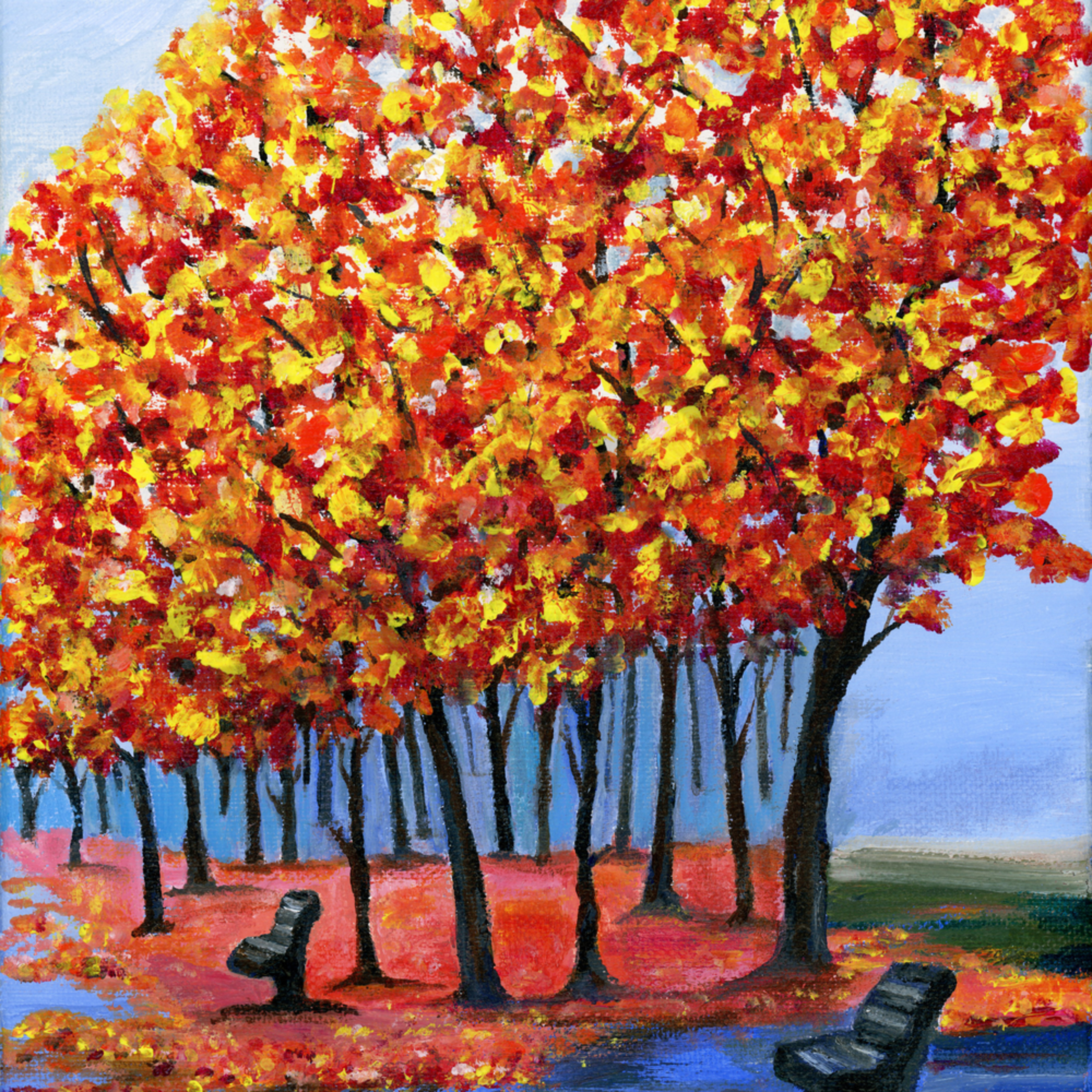 Fall painted path 600 iijaja