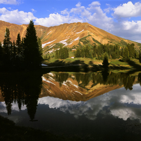 Paradise divide crested butte lake 4x8 rzbqz3