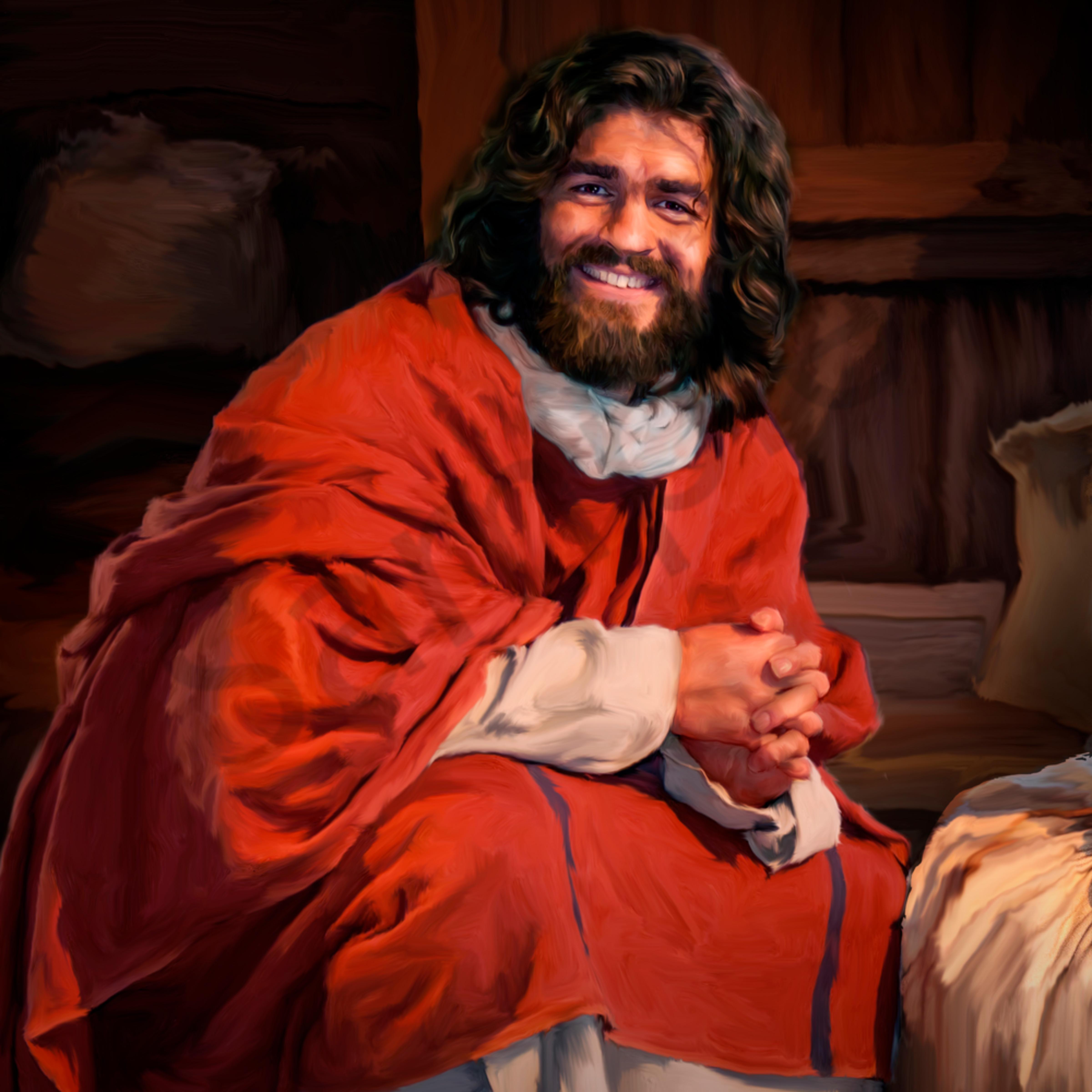 Jesus at ark bay x1052k