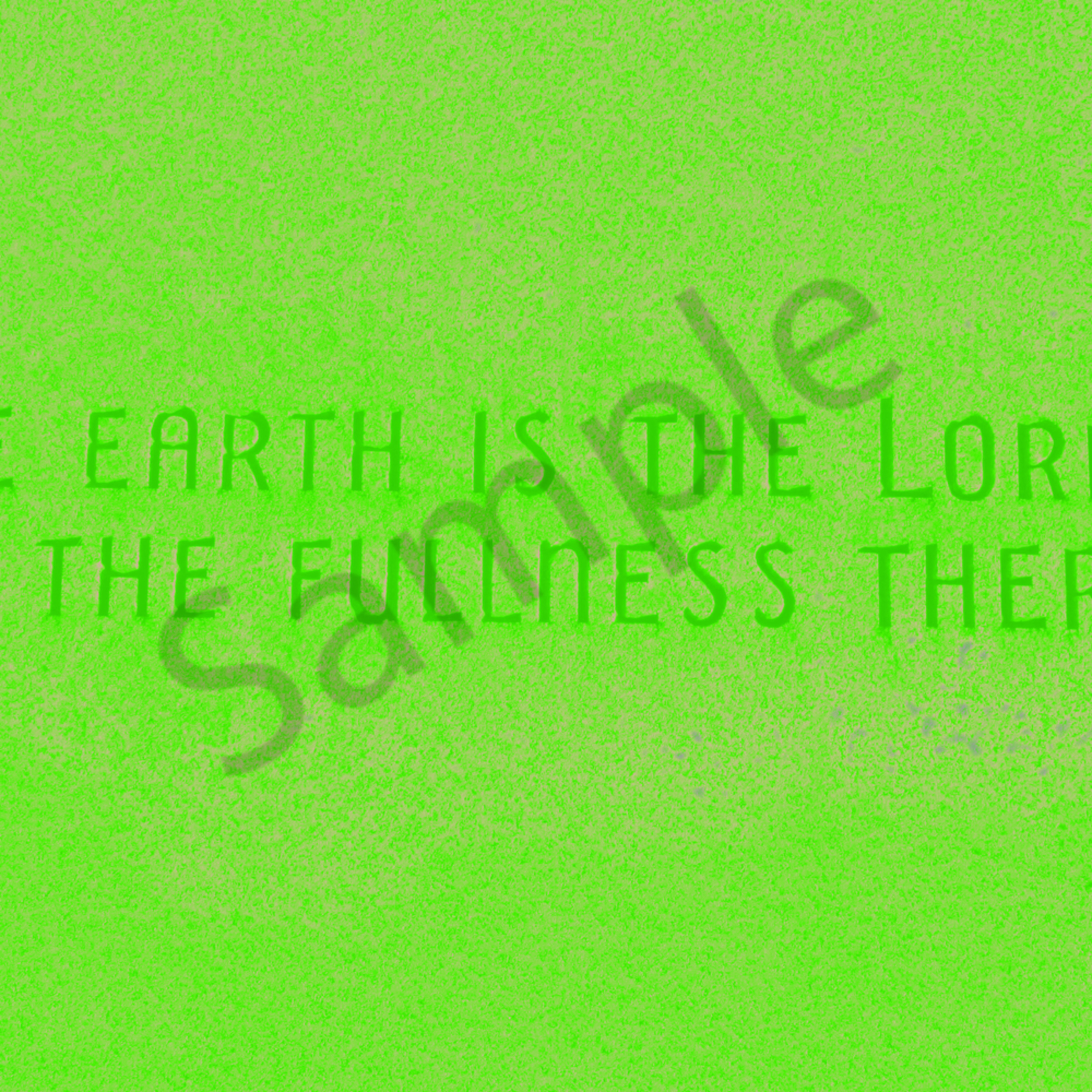 The earth is the lords gravestone jizsvw