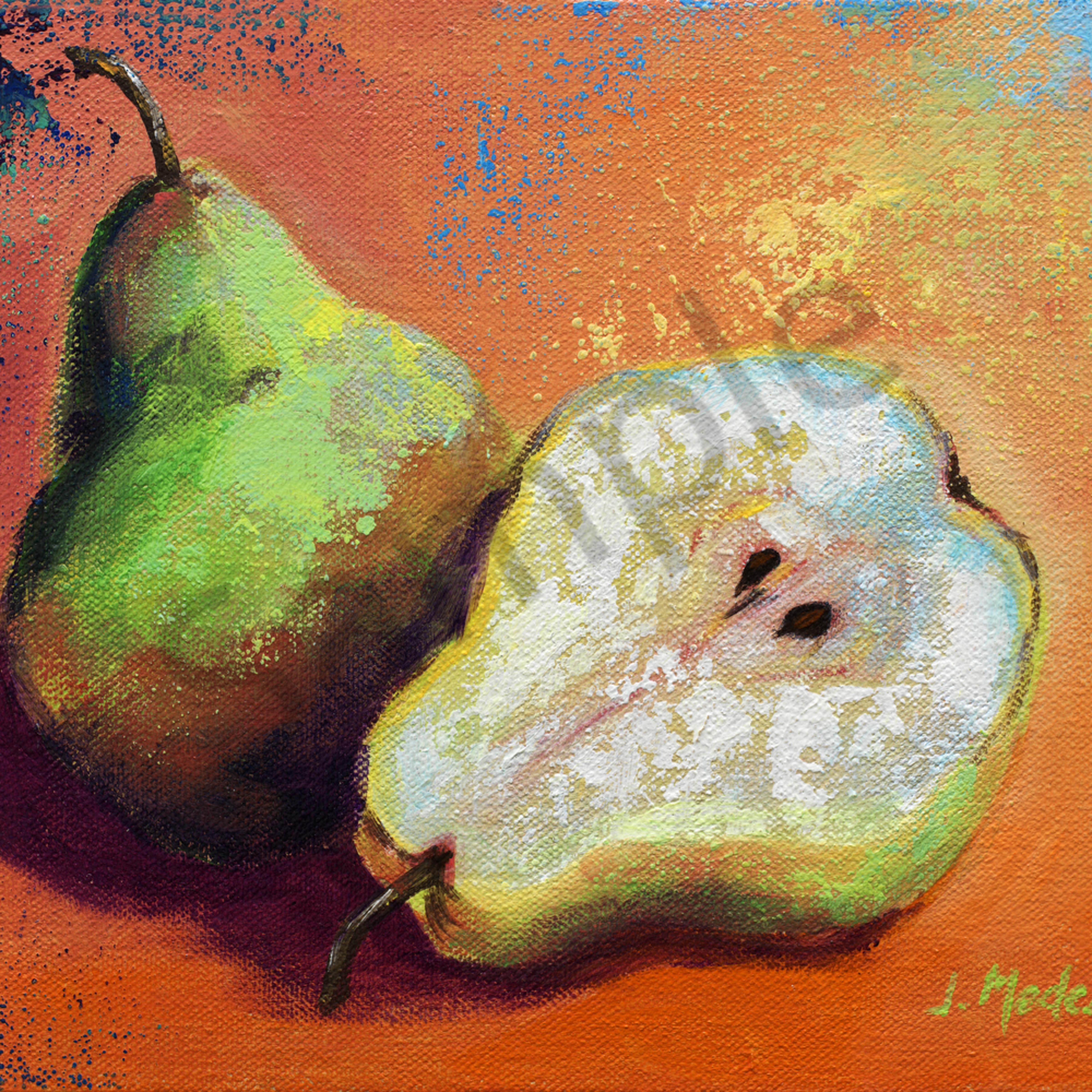 5 pears 8x10 crop b flat 82m xdsgao