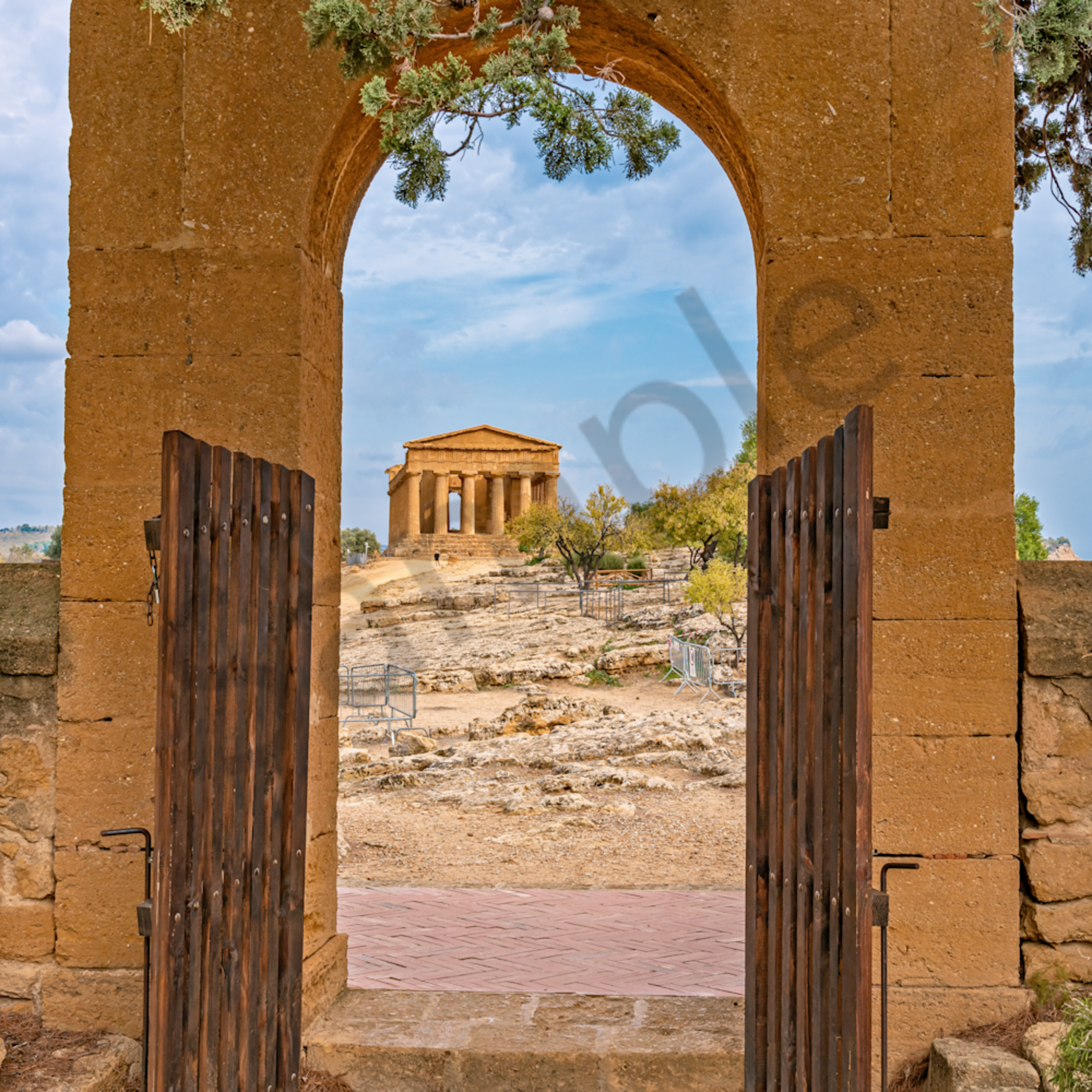 Ruins in agrigento sicily italy oicwya