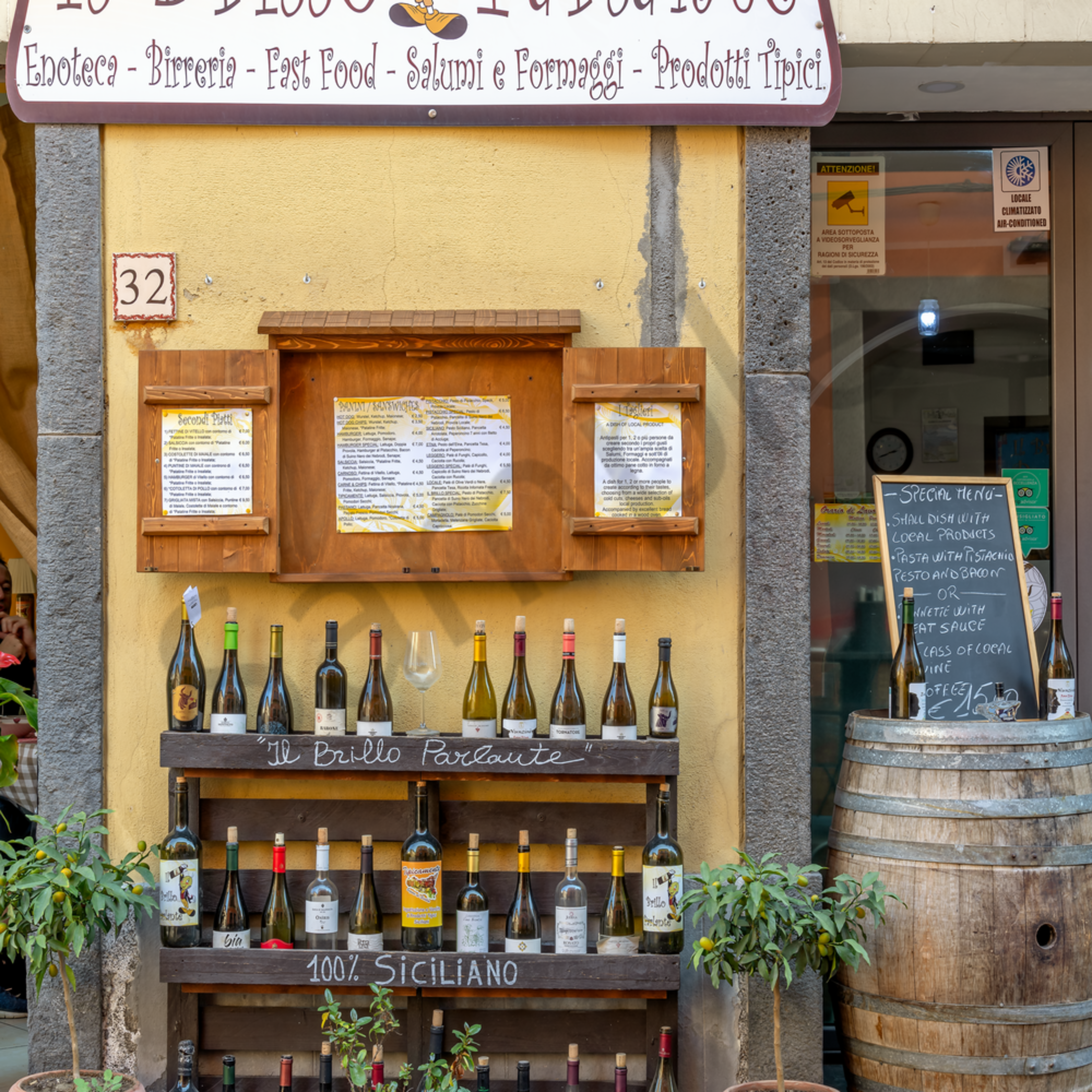 Randazzo and wine and restaurant sicily vertical italy fyi1x2