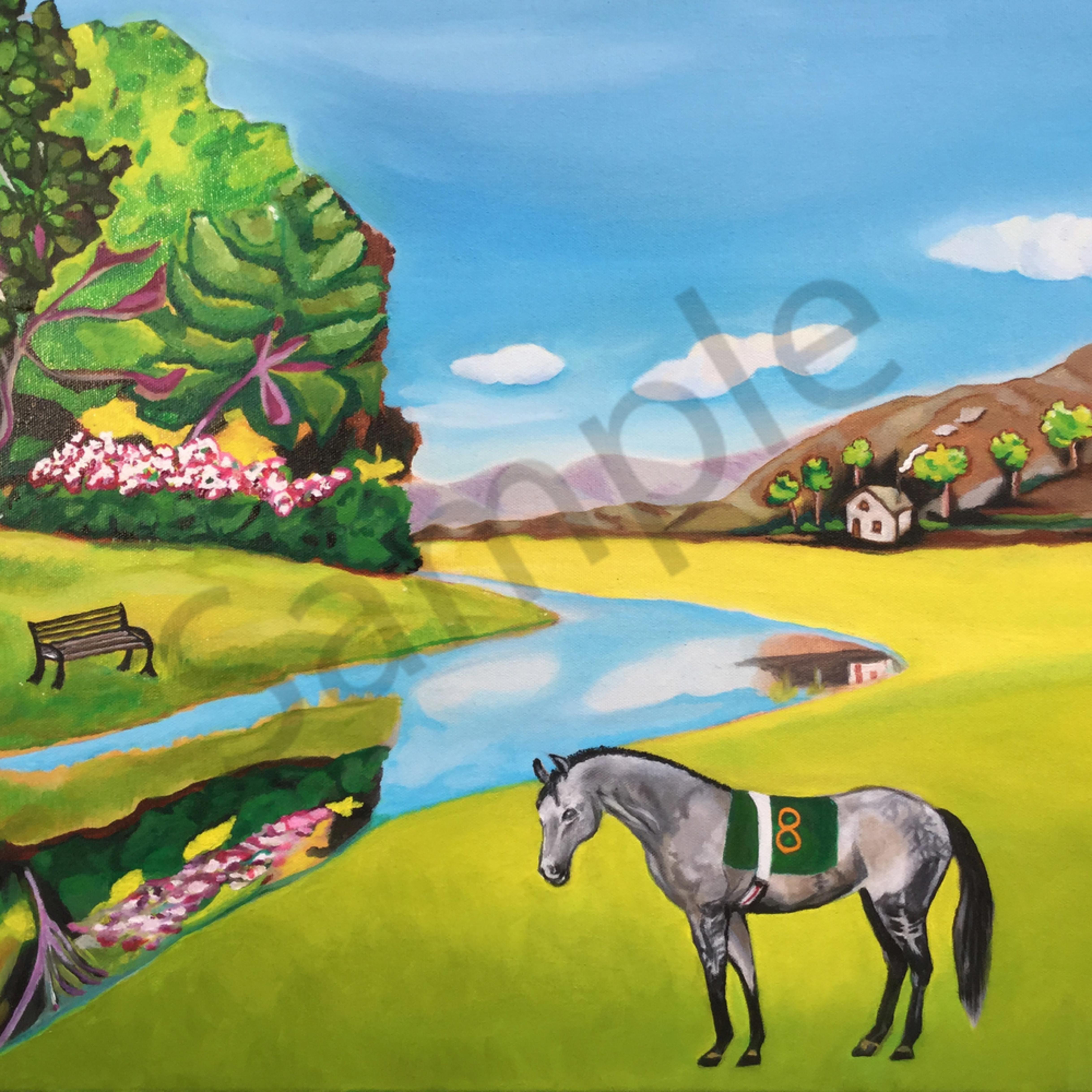 Ritual dance in repose equine painting final feb 2019 330 qqve5a
