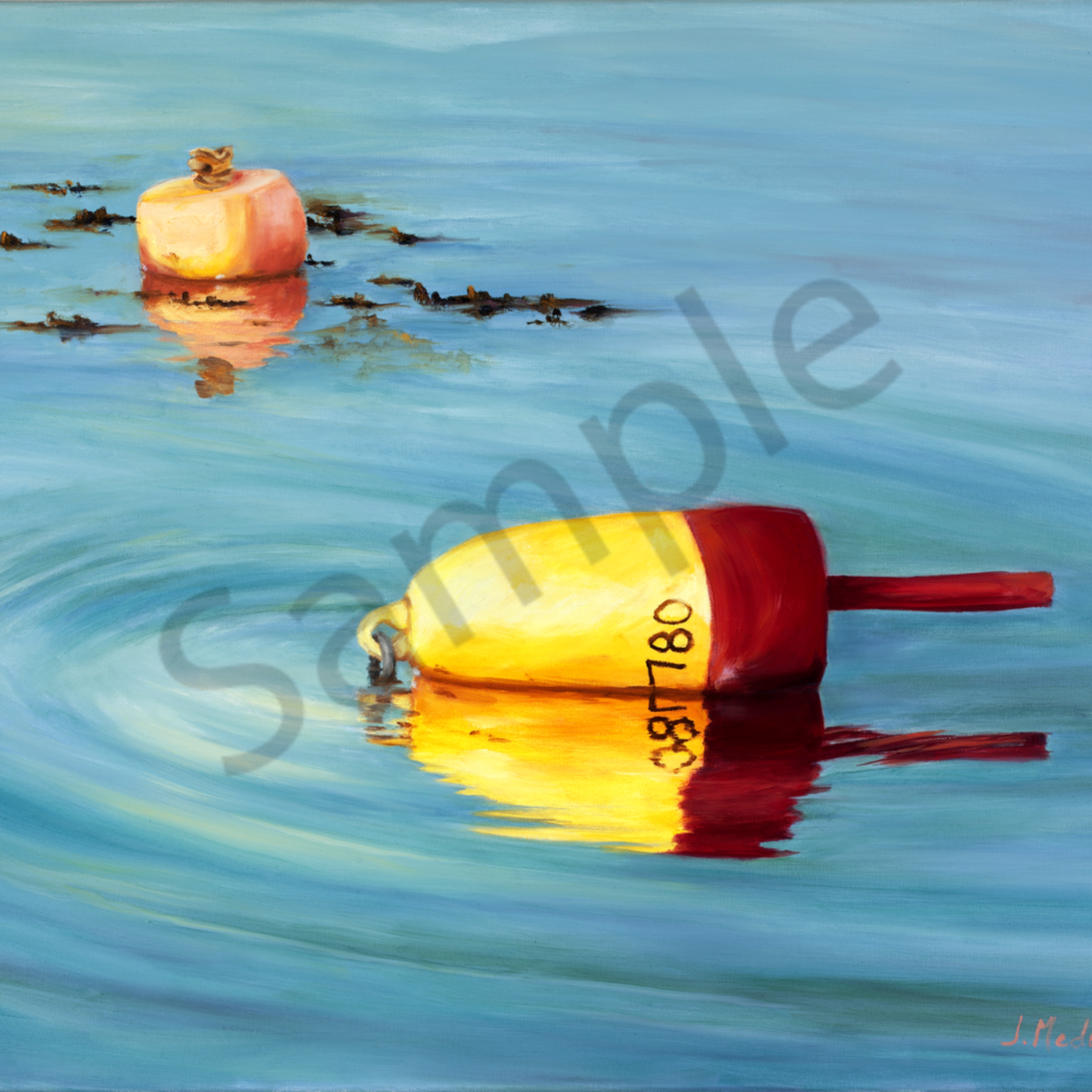 Picture 206 maine lobster bouy 24x30 b flat 89mg gatjvs