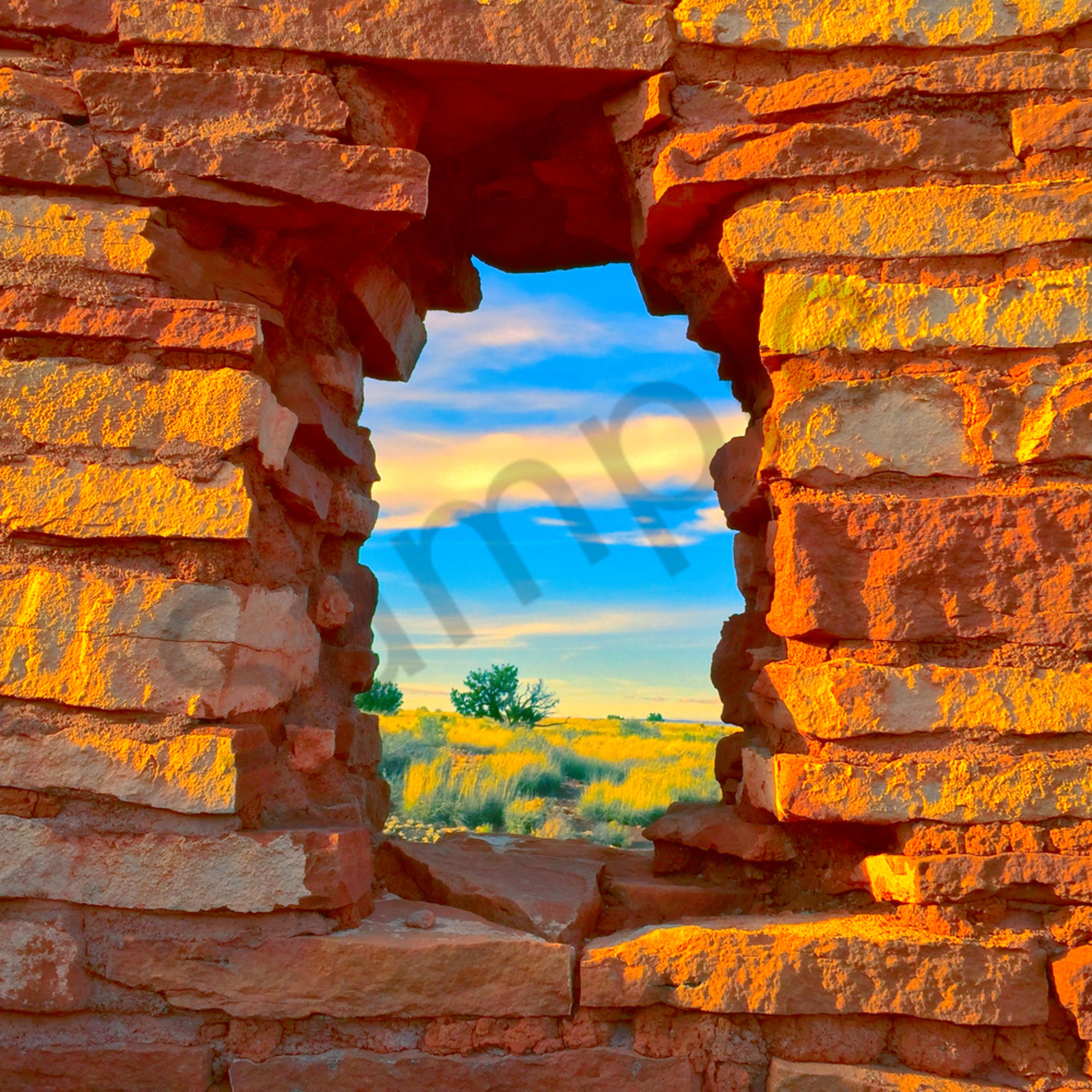 Wupatki window scene website htpm9b