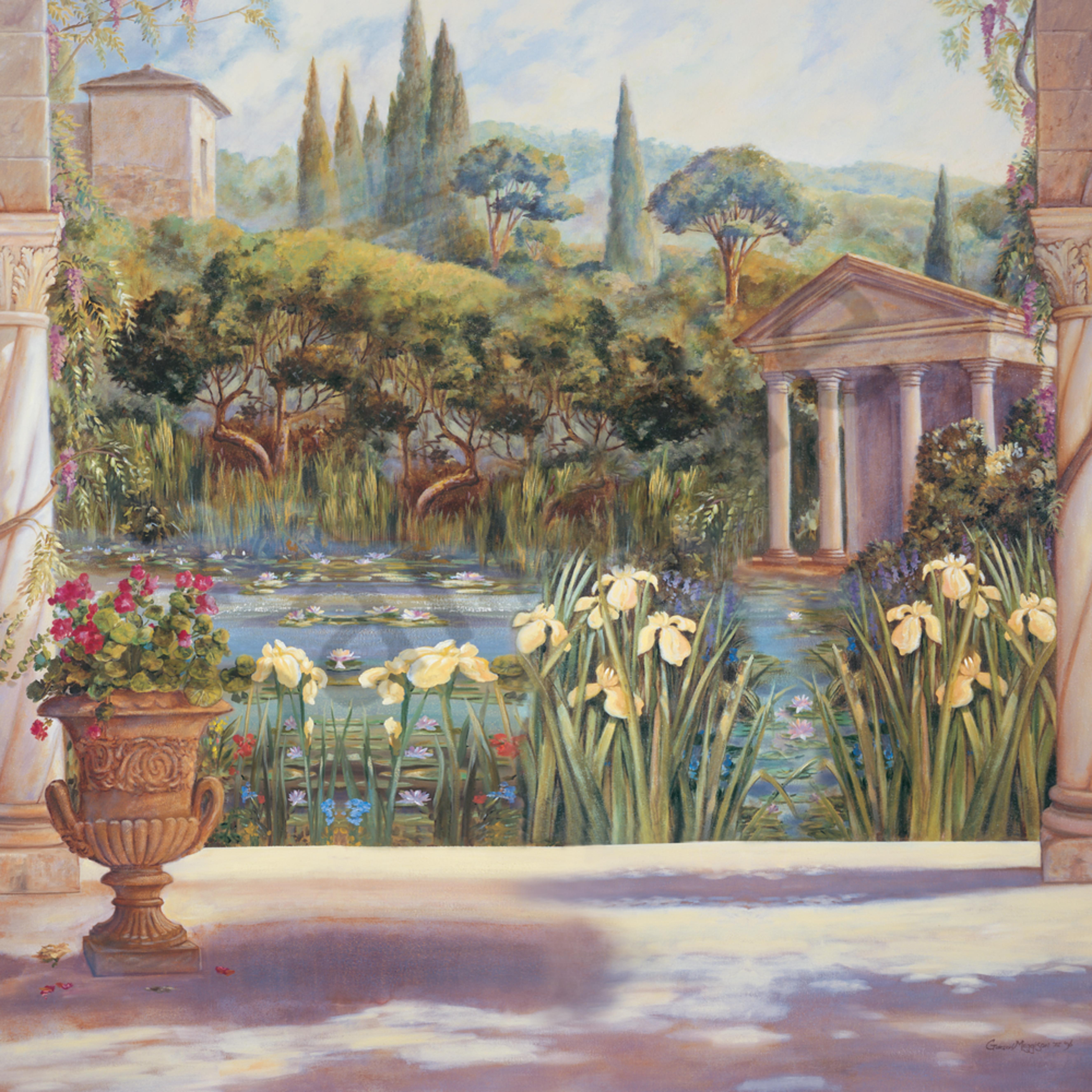 Roman garden voebtg