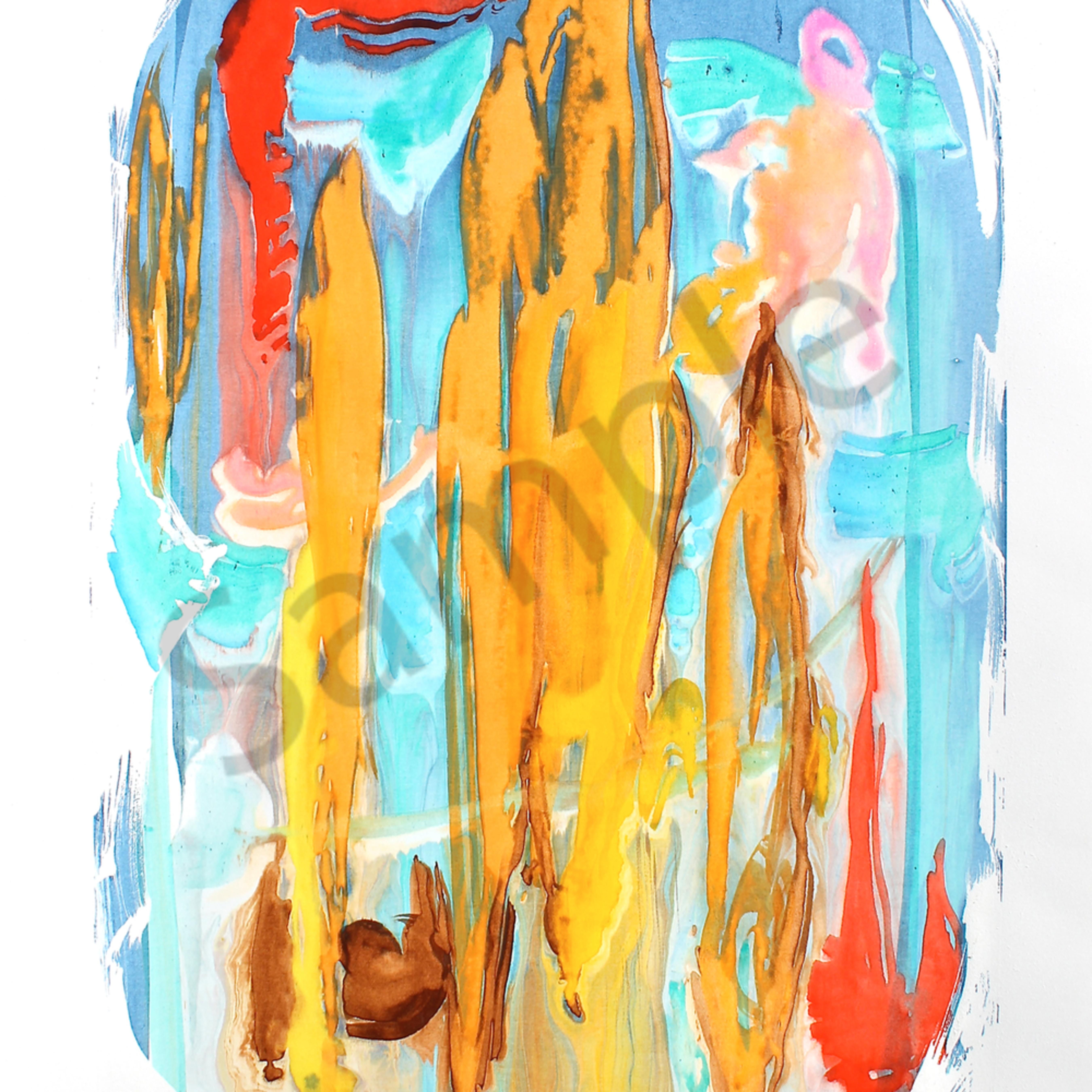 Icarus 18 x24 watercolor g.meggisoniv n4ardb