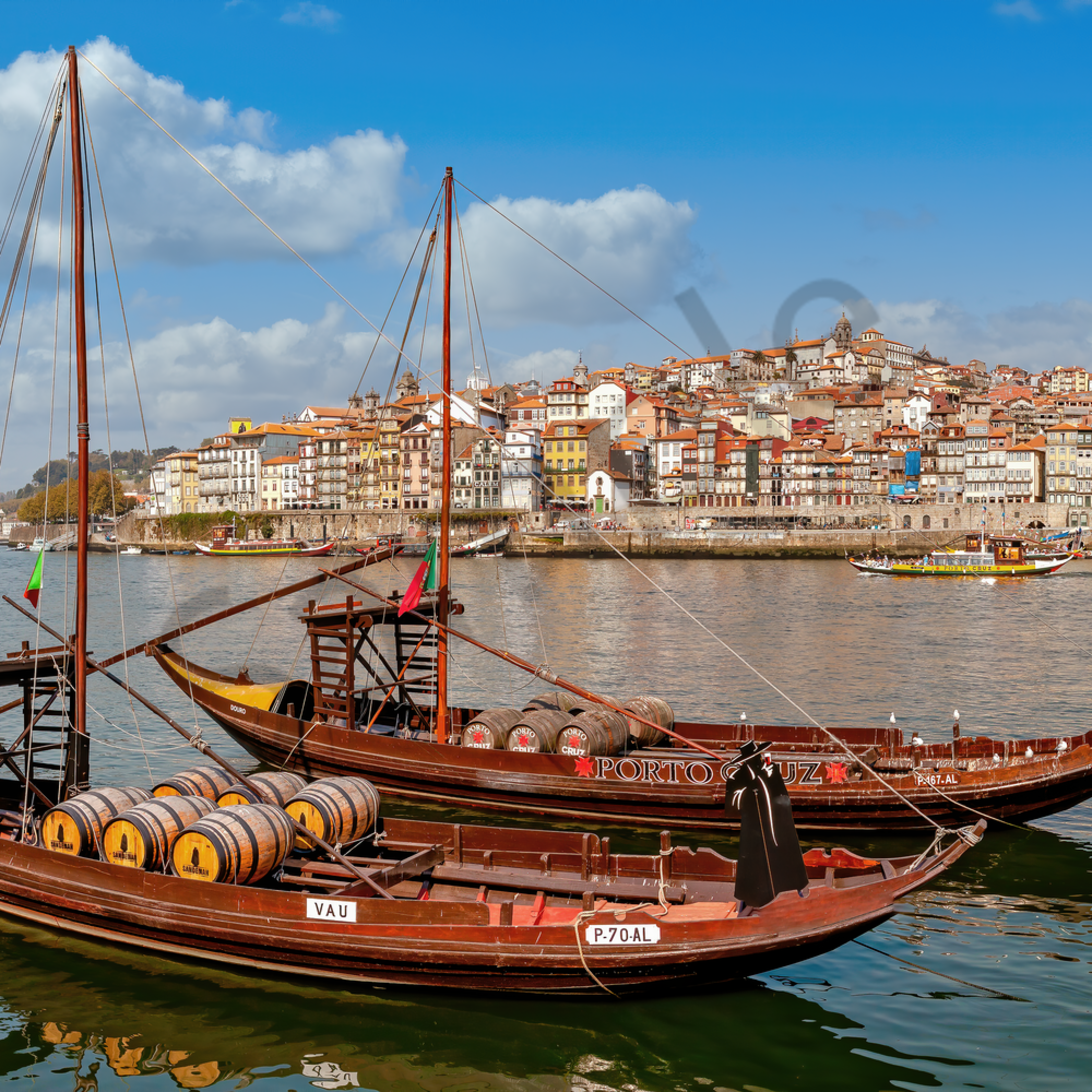 Douro boats and porto wine porto portugal grkoke
