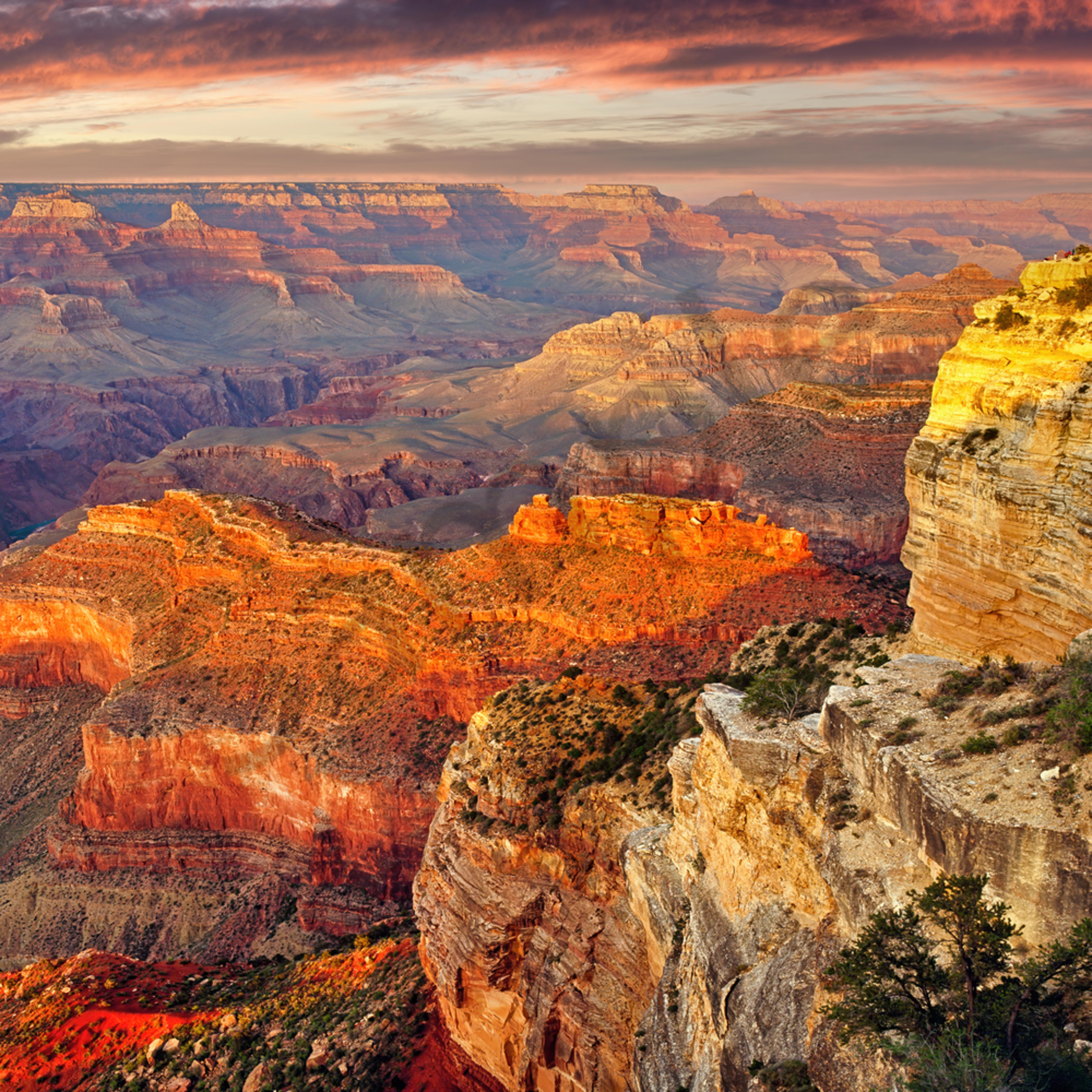 Hopi point south rim grand canyon arizona a30wzn