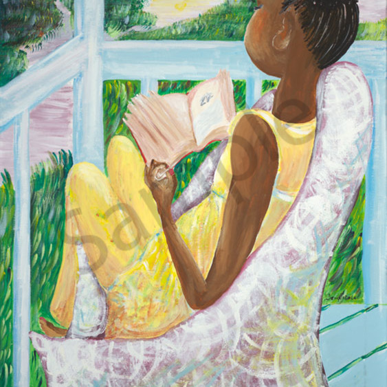 Girl reading a book y3pqng