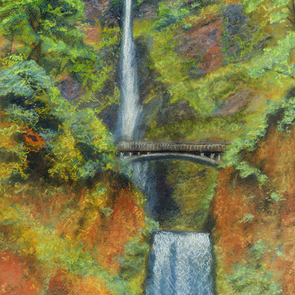Multnomah falls uw813f