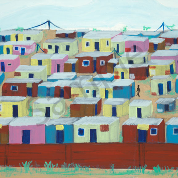 South african township vgug9n